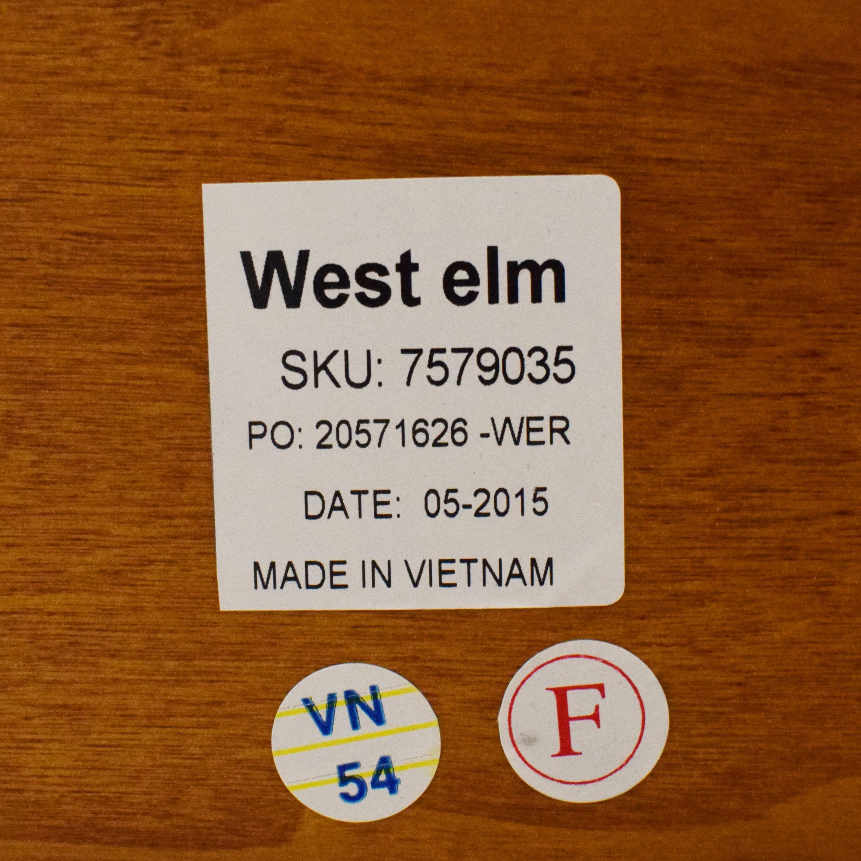 buy West Elm Modern Lacquer Full Bed West Elm