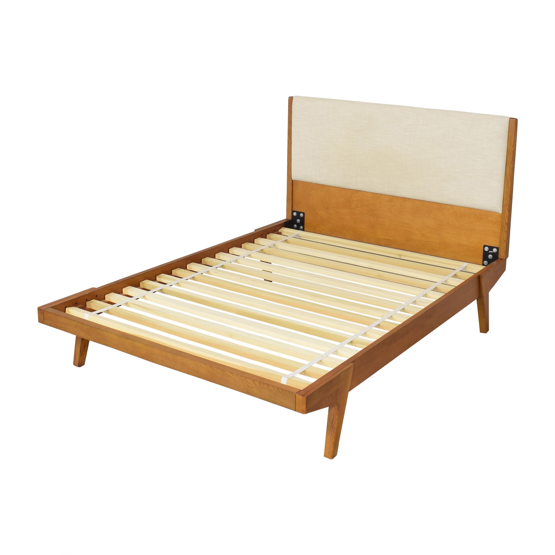 West Elm West Elm Modern Lacquer Full Bed Bed Frames
