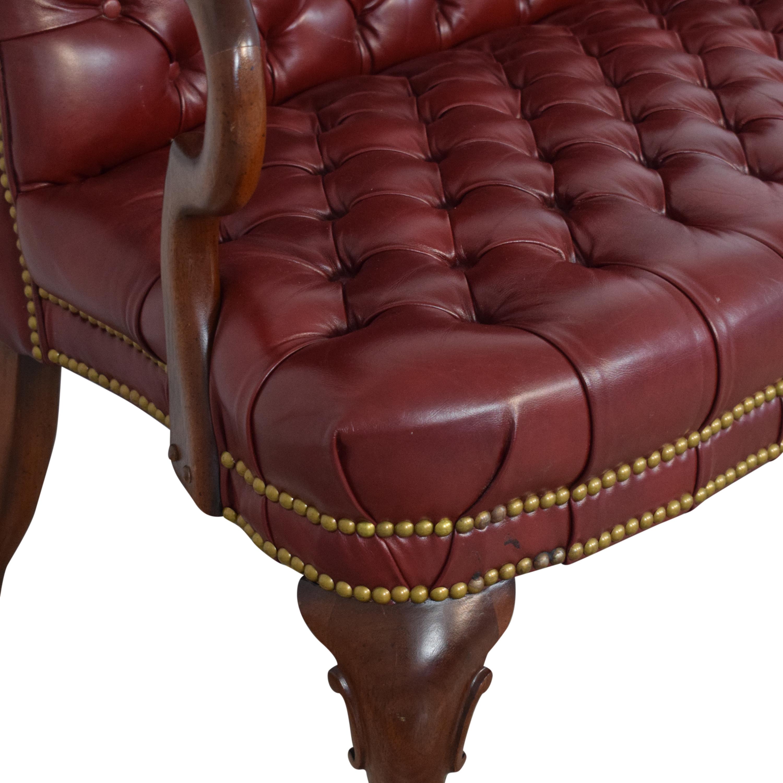 shop Custom Tufted Settee  Chairs
