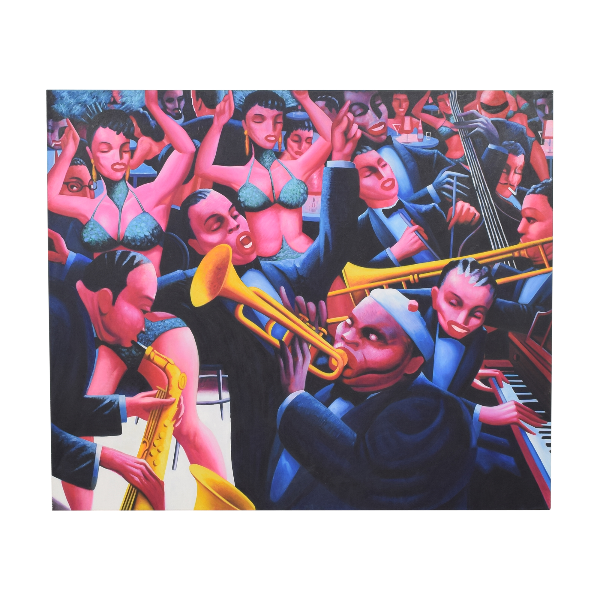 Archibald Motley Hot Rhythm Wall Art