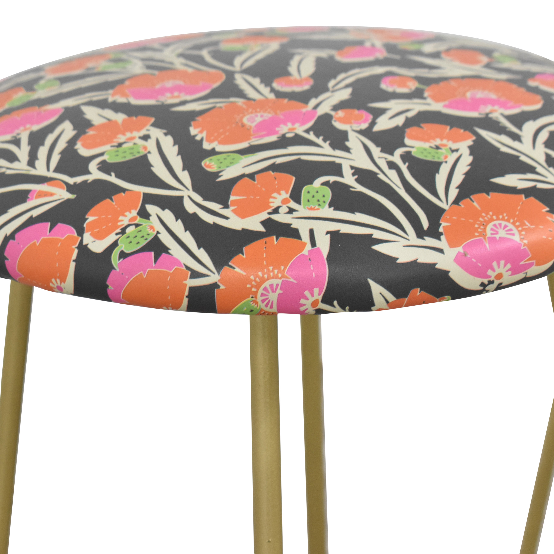 Wayfair Holli Zollinger Zebrini Floral Bar Stools / Chairs
