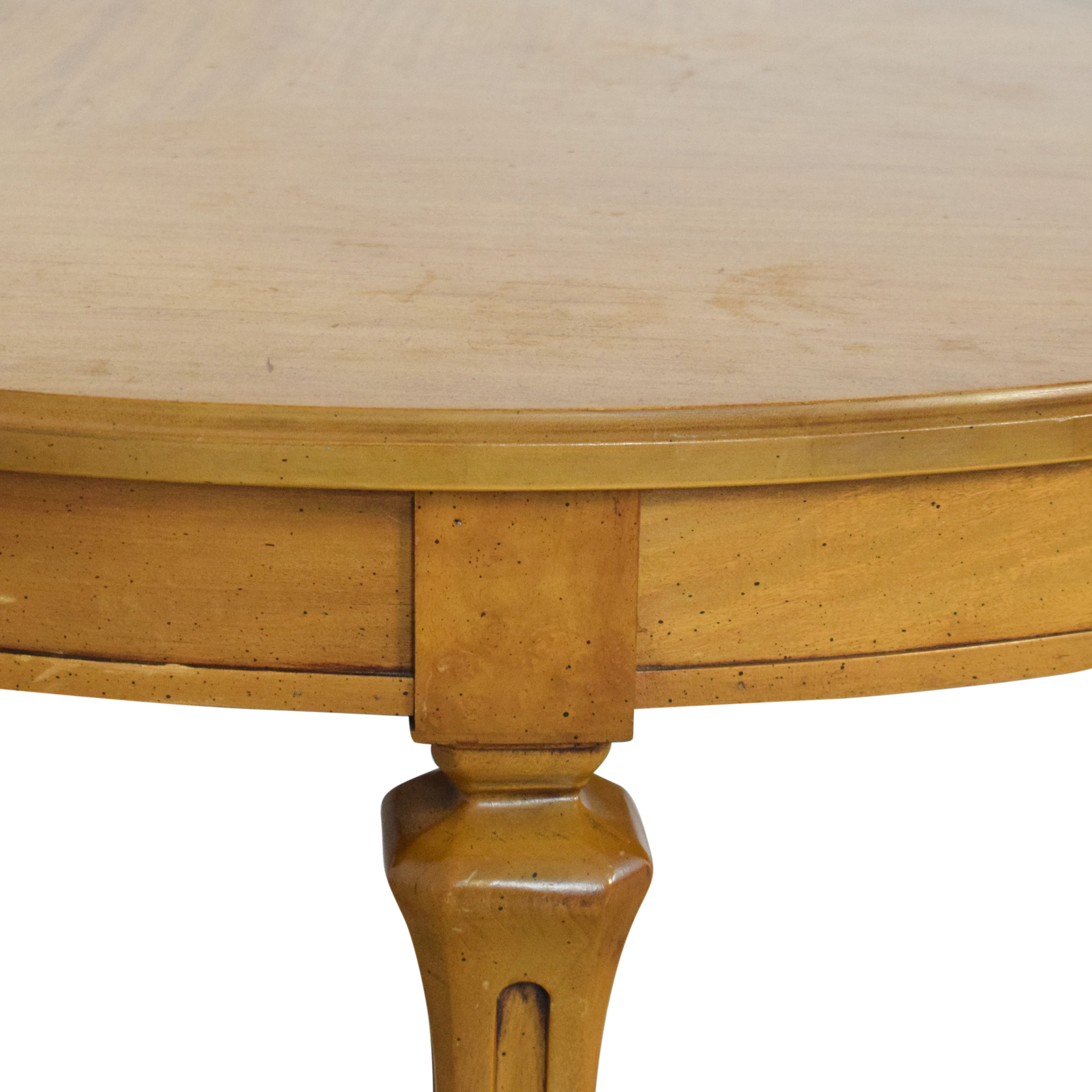 Oval Extendable Dining Table ct