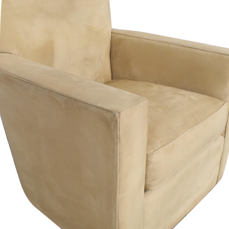 Crate & Barrel Club Chair Crate & Barrel