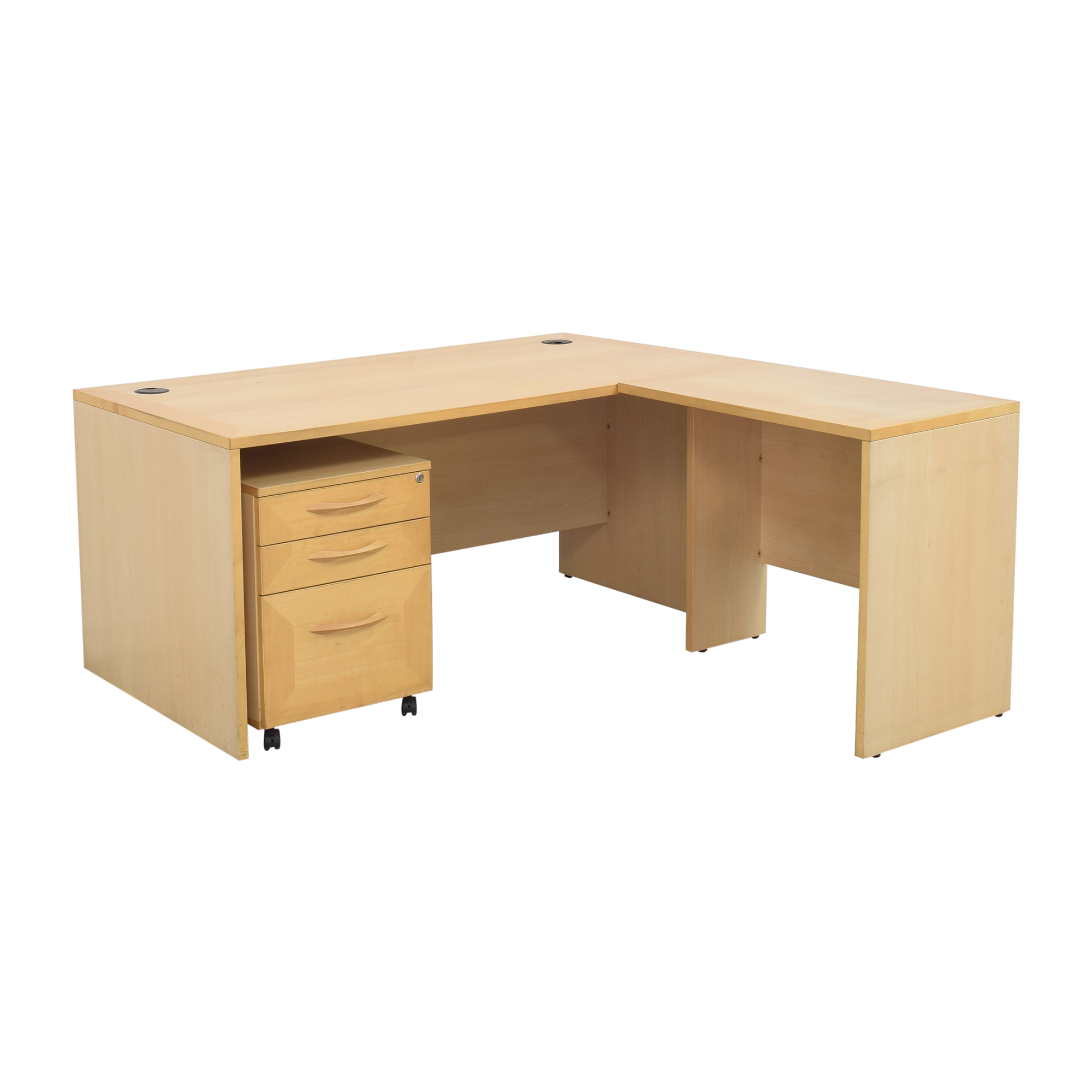 Door Store Desk with File Cabinet / Tables