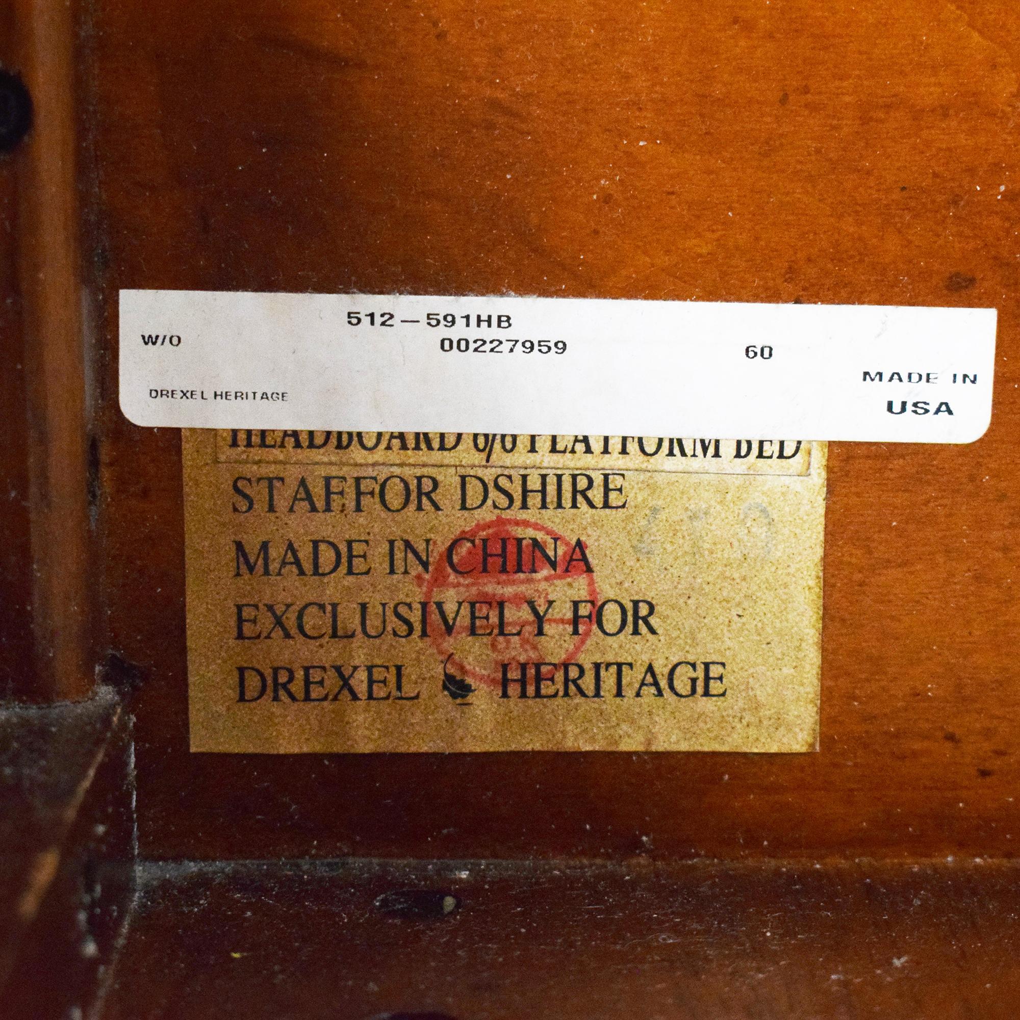Drexel Heritage Drexel Heritage King Sleigh Bed