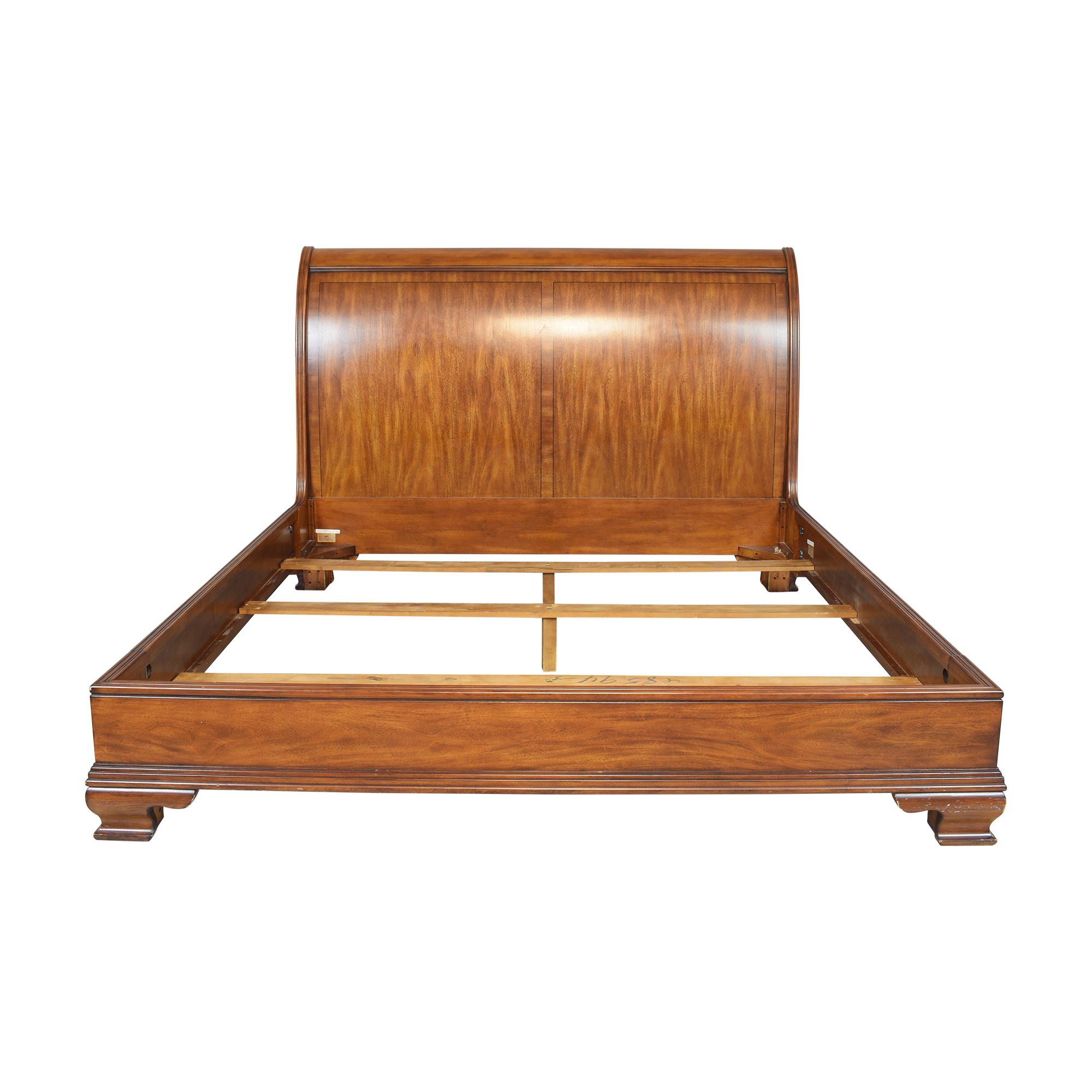 Drexel Heritage Drexel Heritage King Sleigh Bed brown