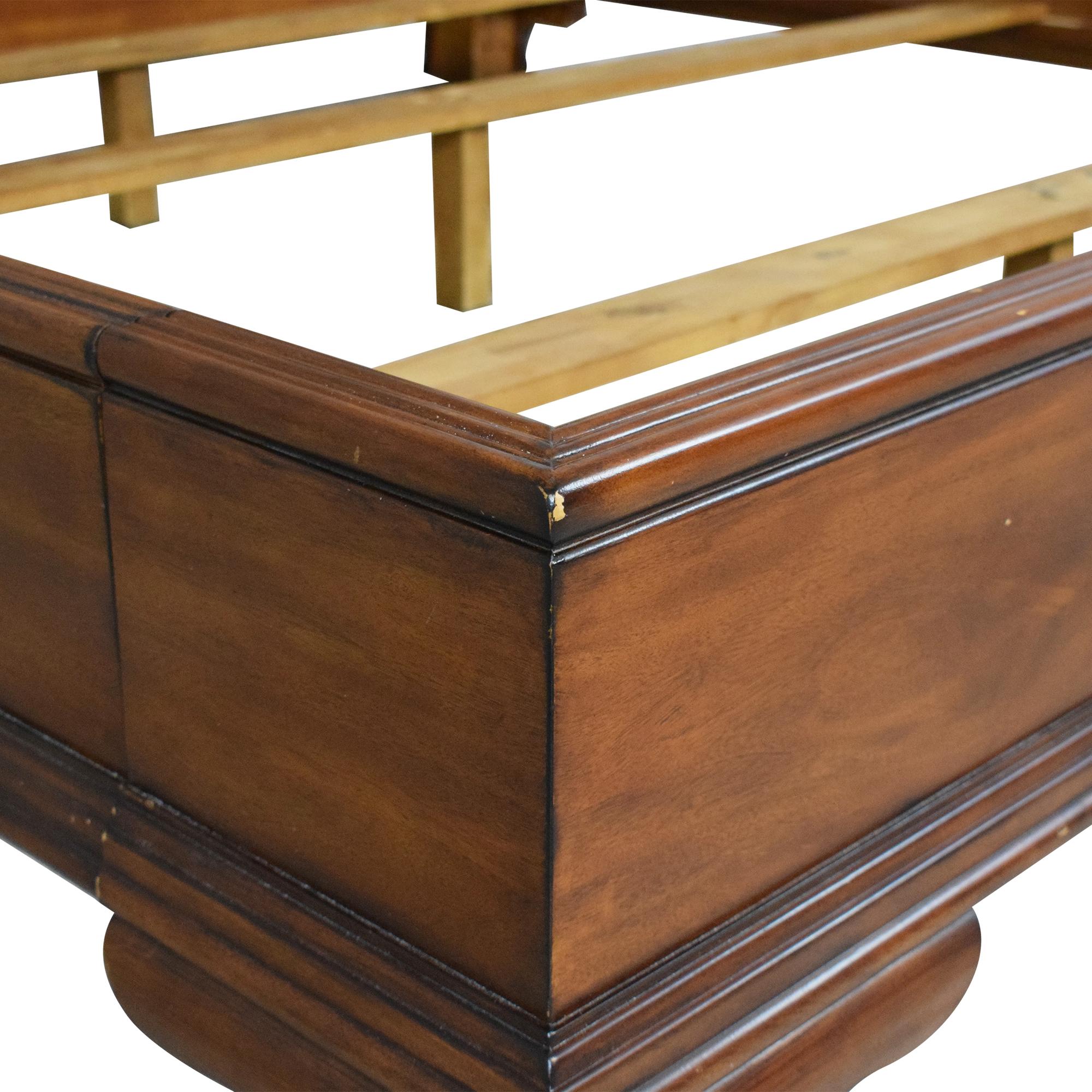 Drexel Heritage Drexel Heritage King Sleigh Bed dimensions