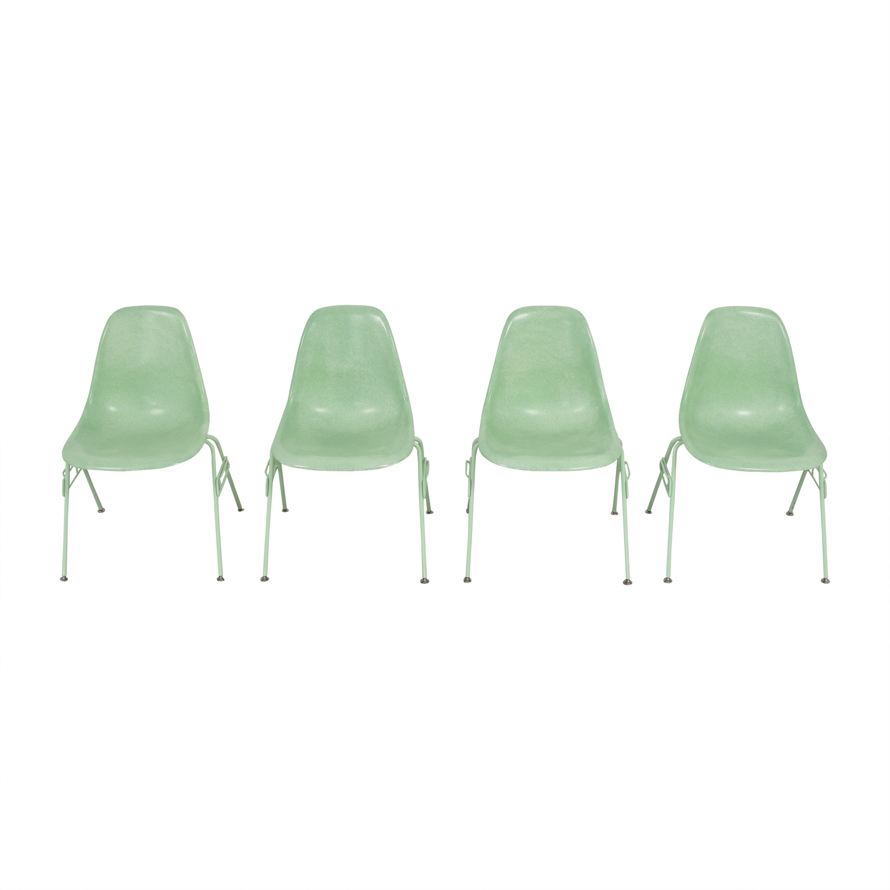 Modernica Modernica Case Study Shell Stacking Side Dining Chairs Chairs