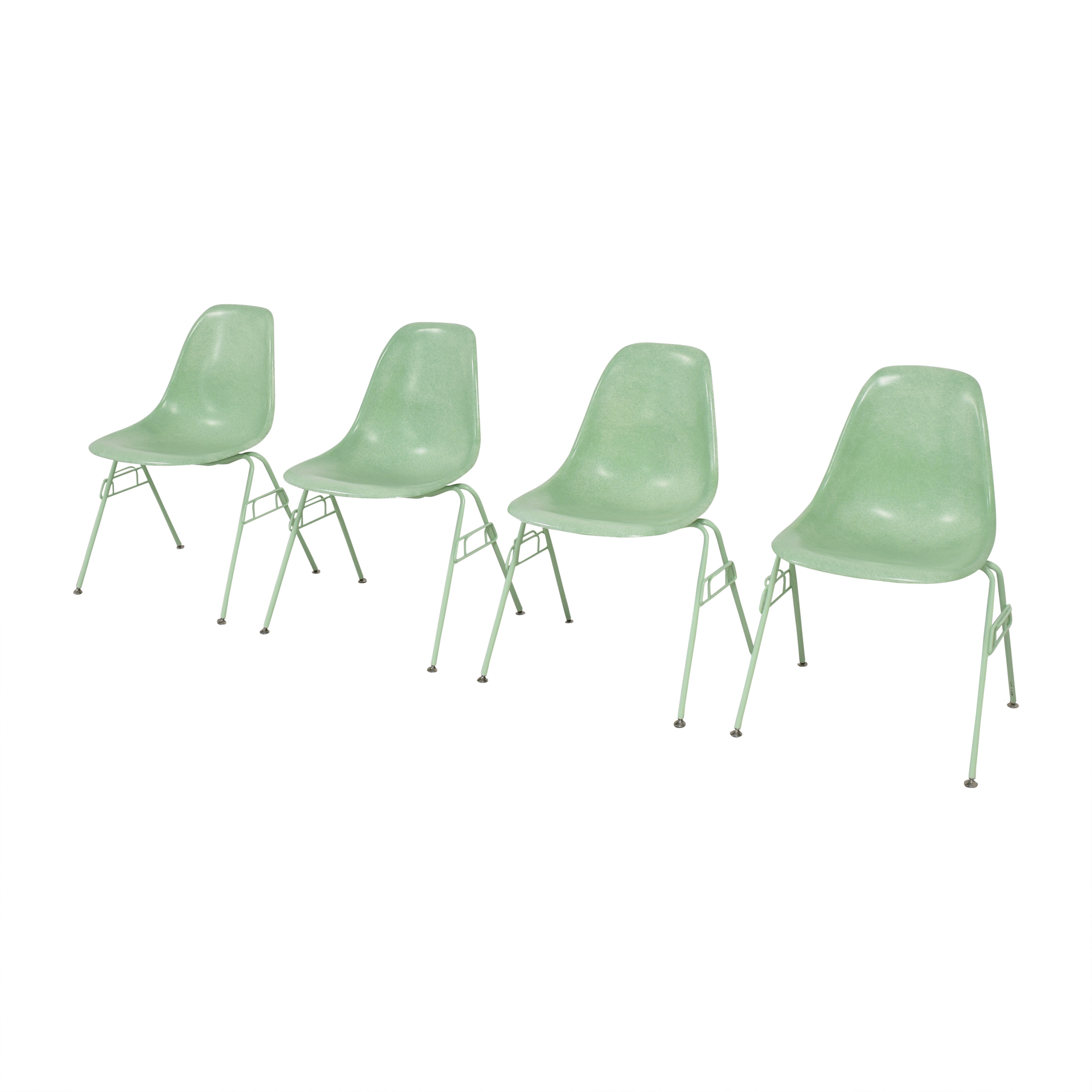 Modernica Case Study Shell Stacking Side Dining Chairs / Chairs