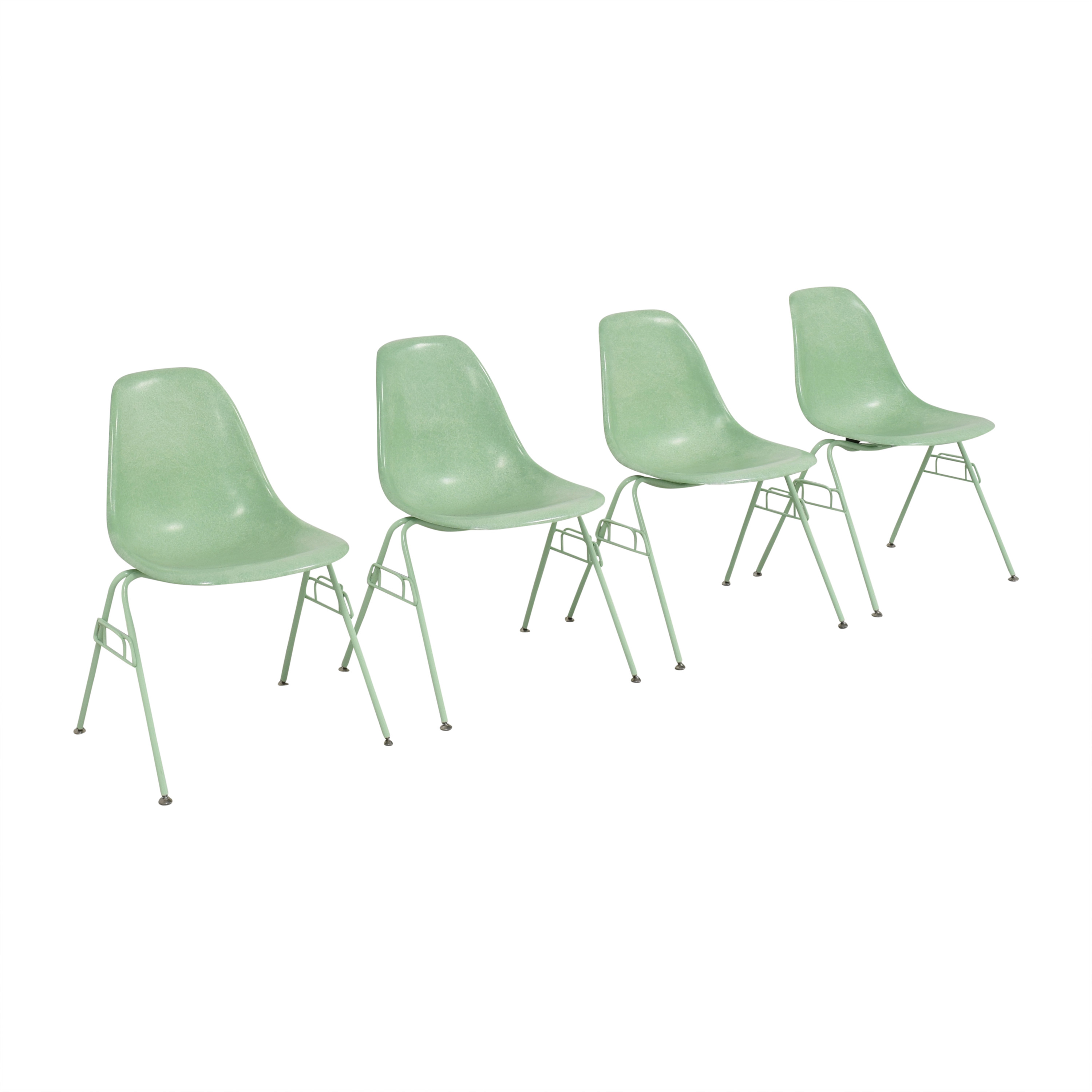 Modernica Modernica Case Study Shell Stacking Side Dining Chairs ma