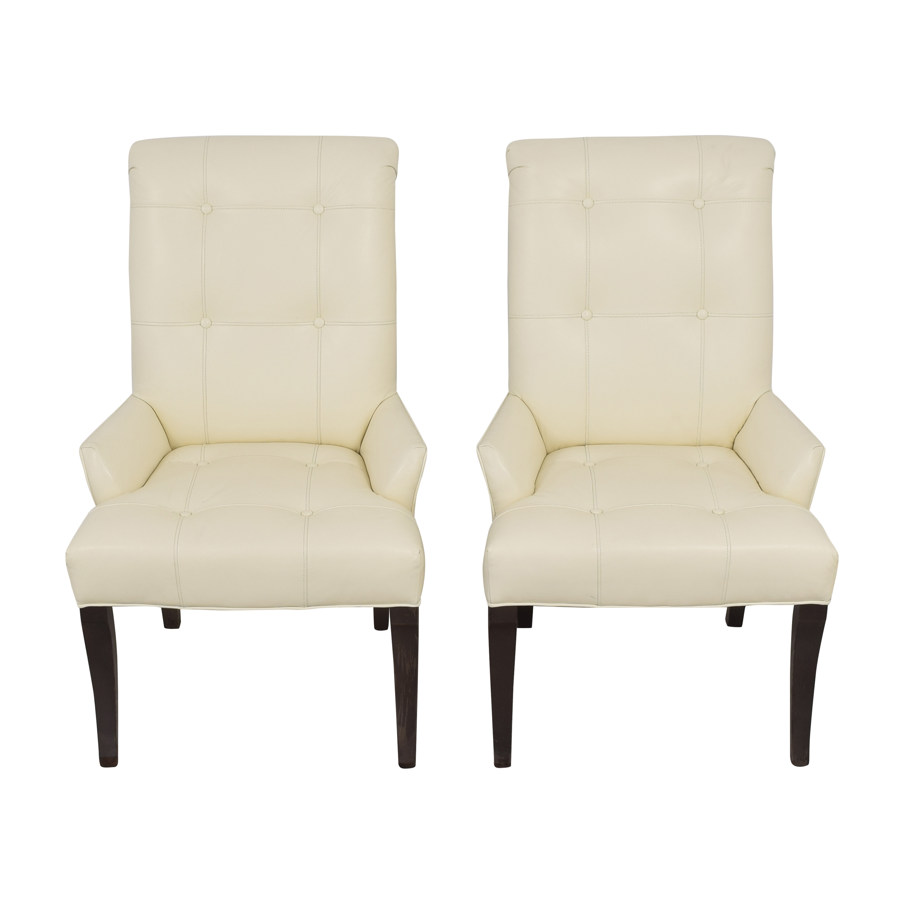 Ethan Allen Ethan Allen Verlaine Dining Armchairs Dining Chairs