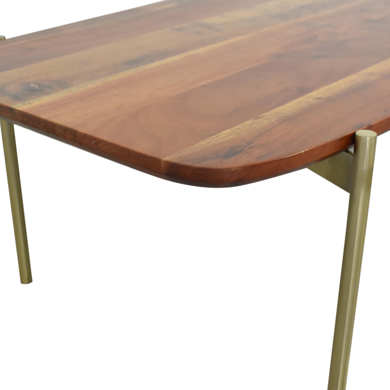 buy CB2 Adam Coffee Table CB2 Tables
