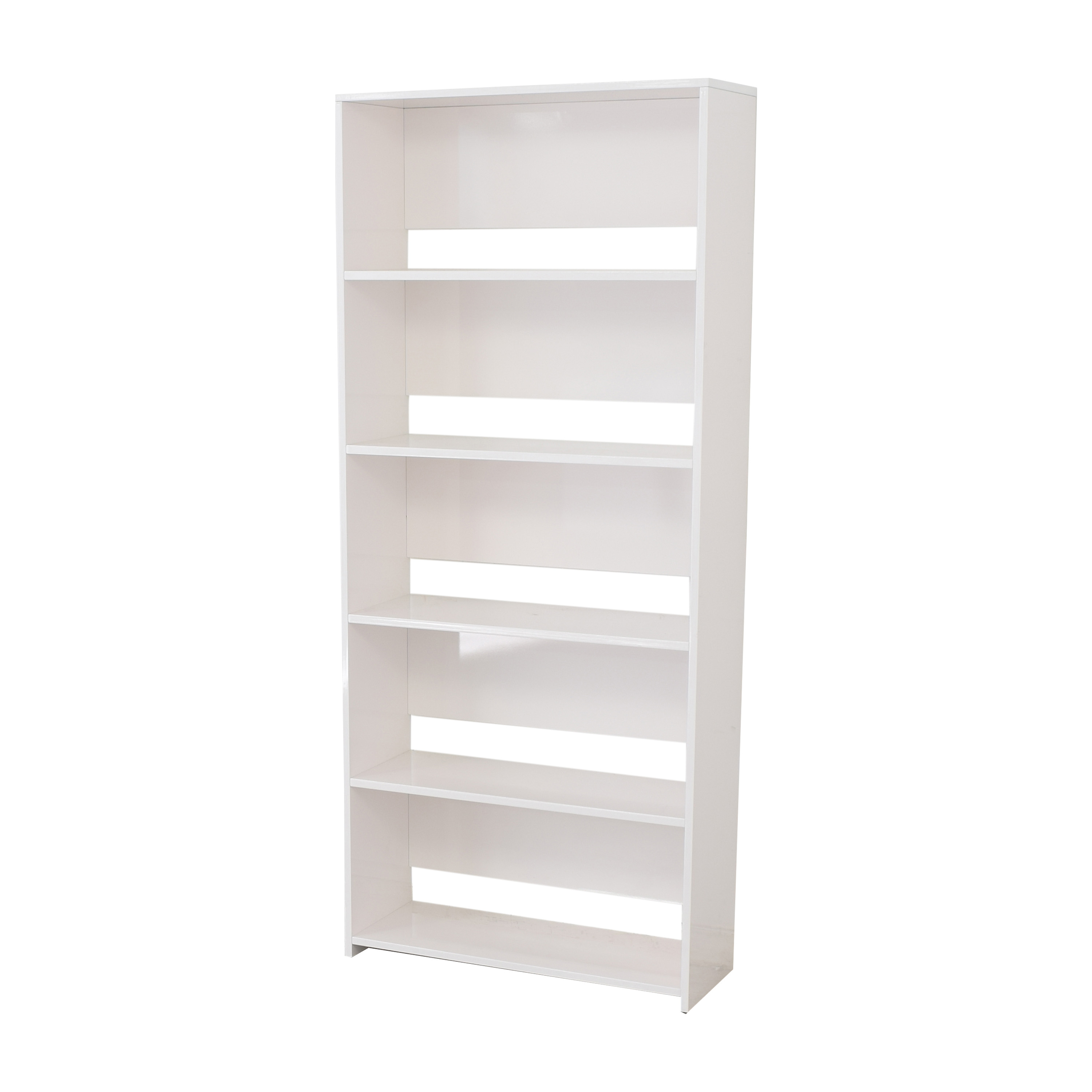 CB2 CB2 Getaway Wide Bookcase Bookcases & Shelving