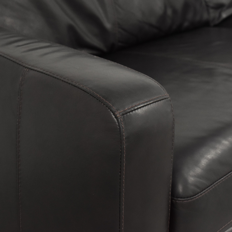 Raymour & Flanigan Raymour & Flanigan Two Cushion Sofa