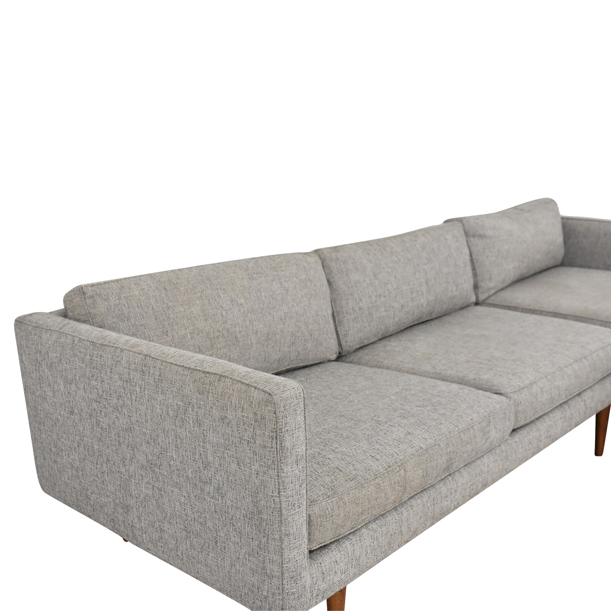 buy West Elm Sectional Sofa with Chaise West Elm