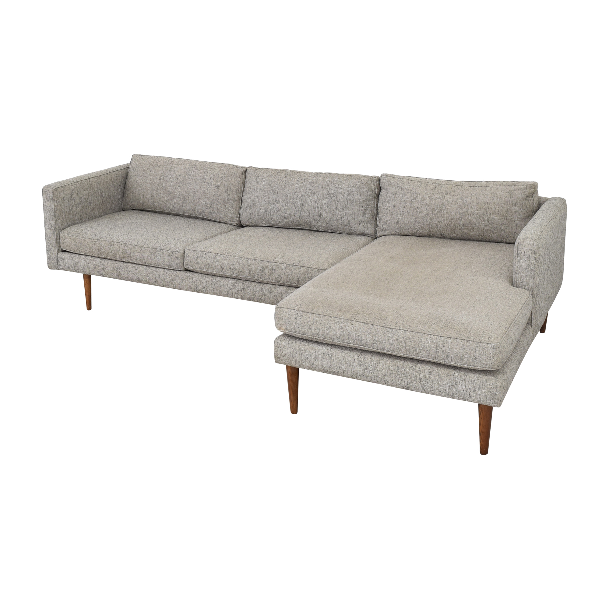 buy West Elm Sectional Sofa with Chaise West Elm Sofas