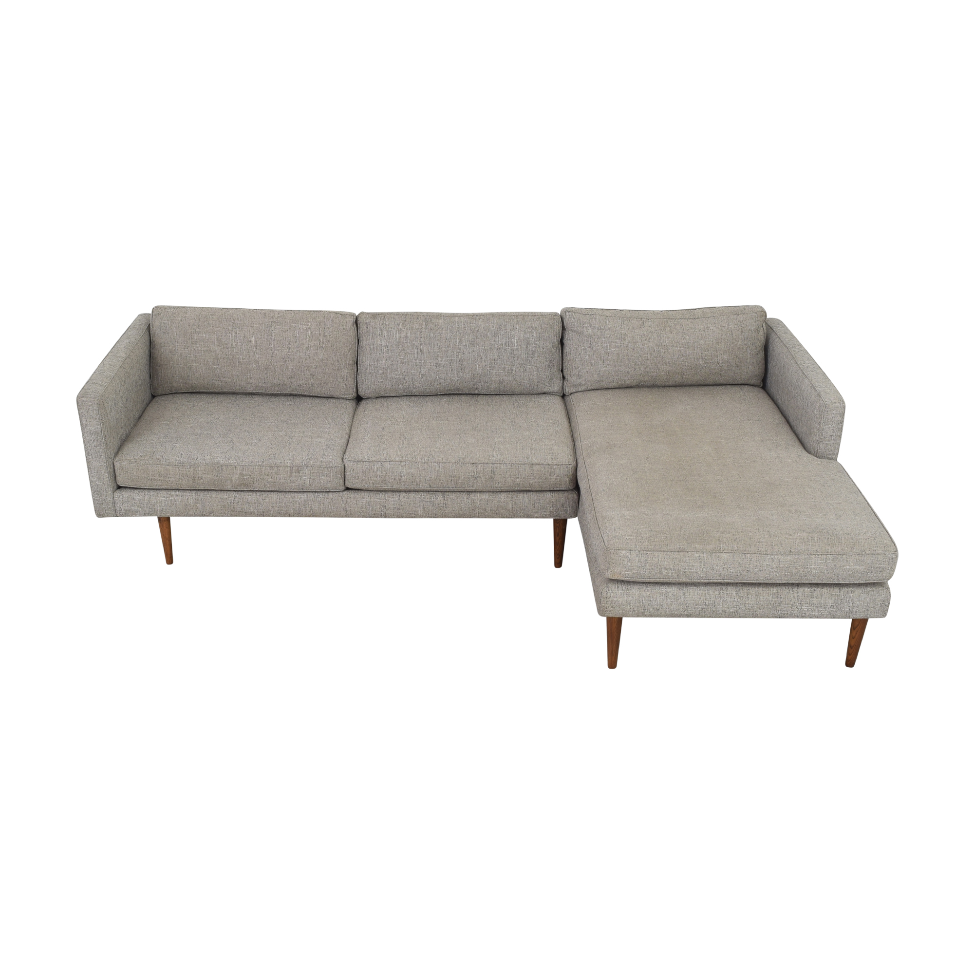 shop West Elm West Elm Sectional Sofa with Chaise online