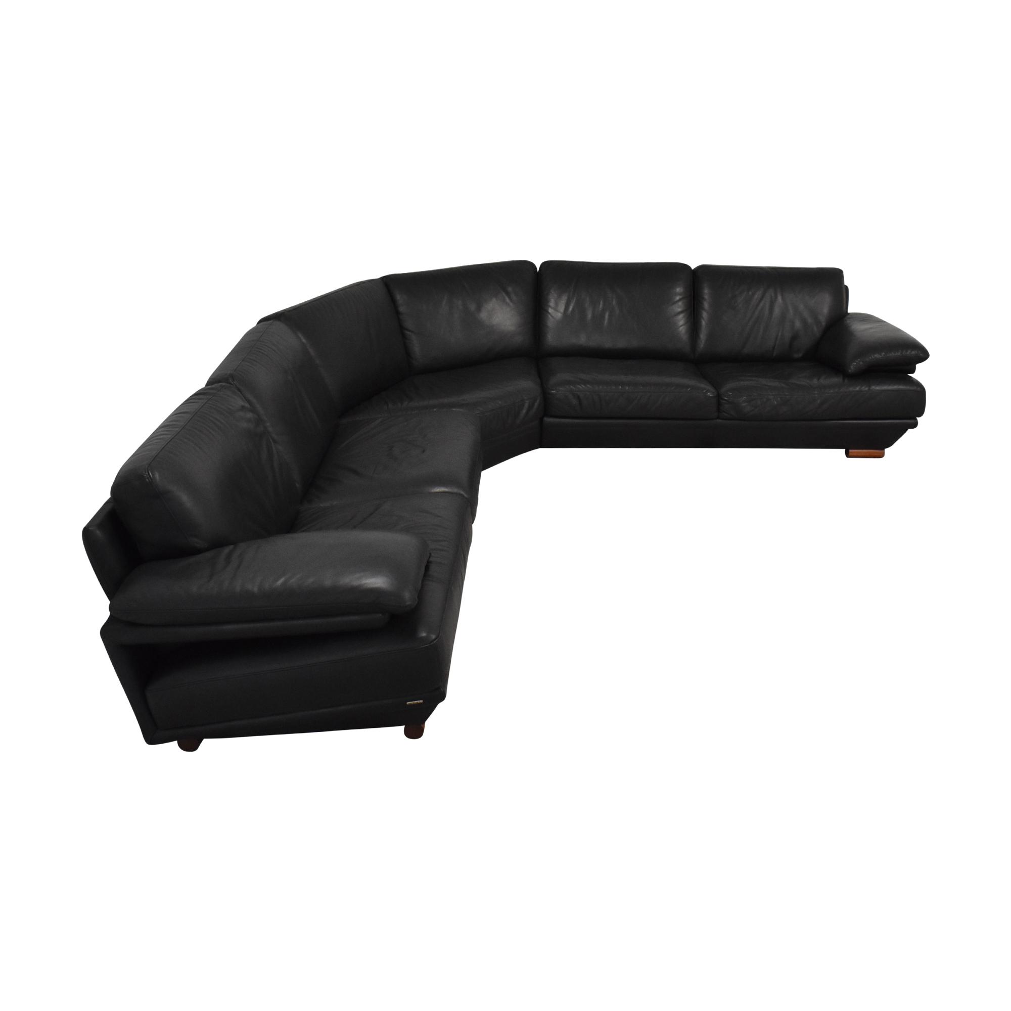 buy Natuzzi Natuzzi Plaza Sectional Sofa online