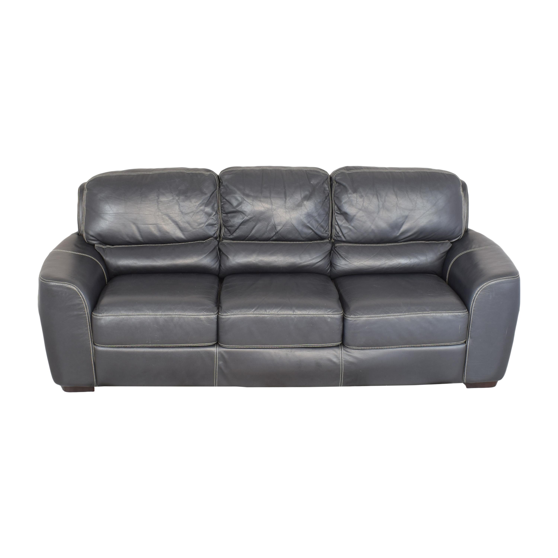 buy Z Gallerie Three-Cushion Sofa Z Gallerie