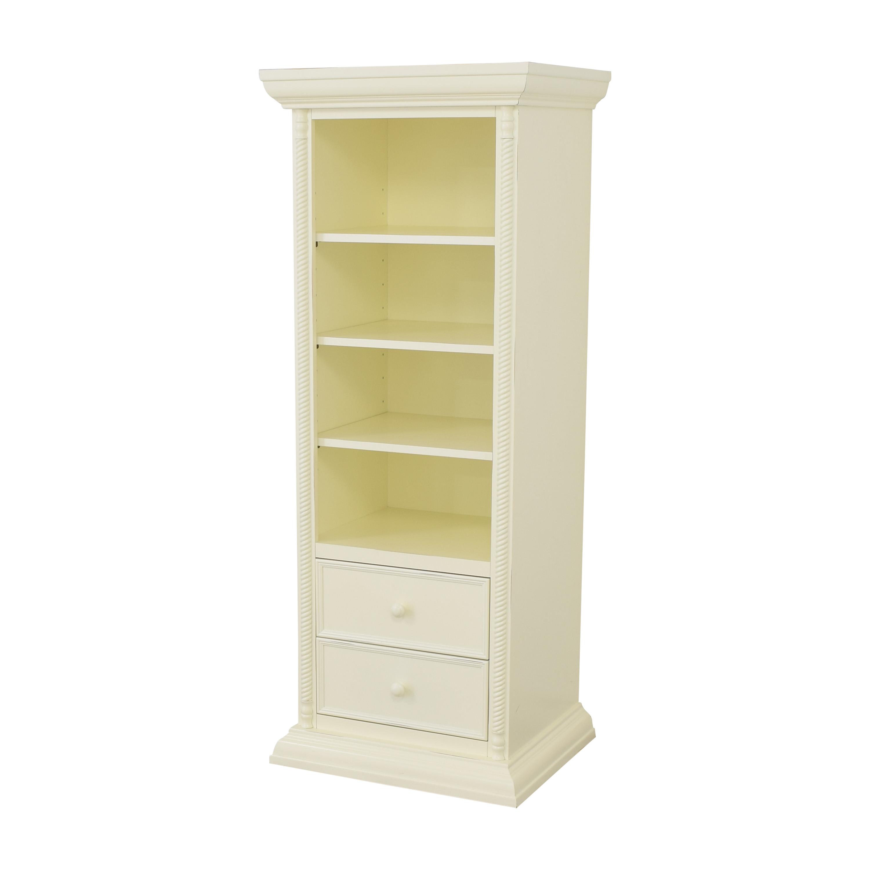 shop Bellini Domani Bookcase with Drawers Bellini Storage
