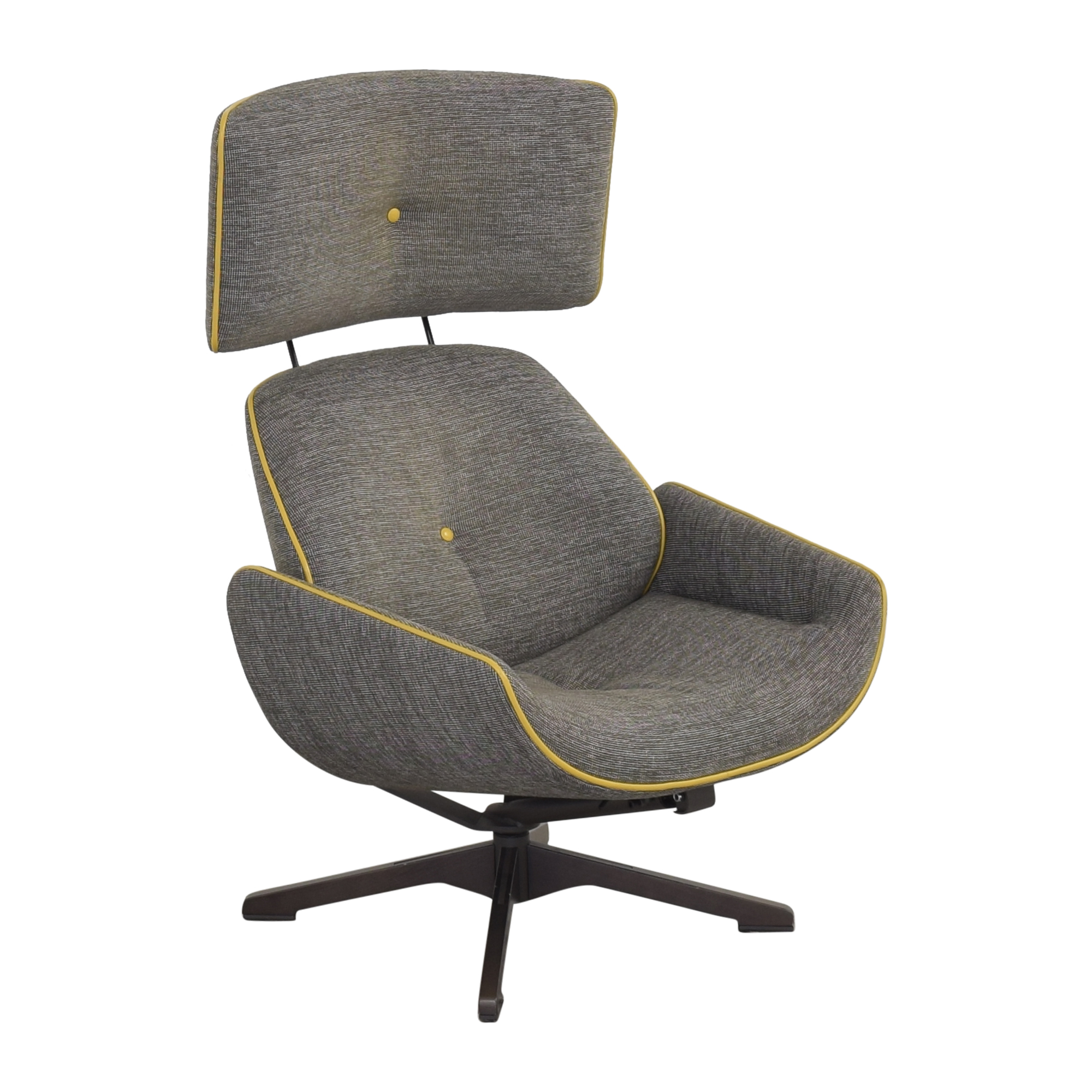 buy Roche Bobois Quiet Life Armchair and Footstool Roche Bobois Chairs