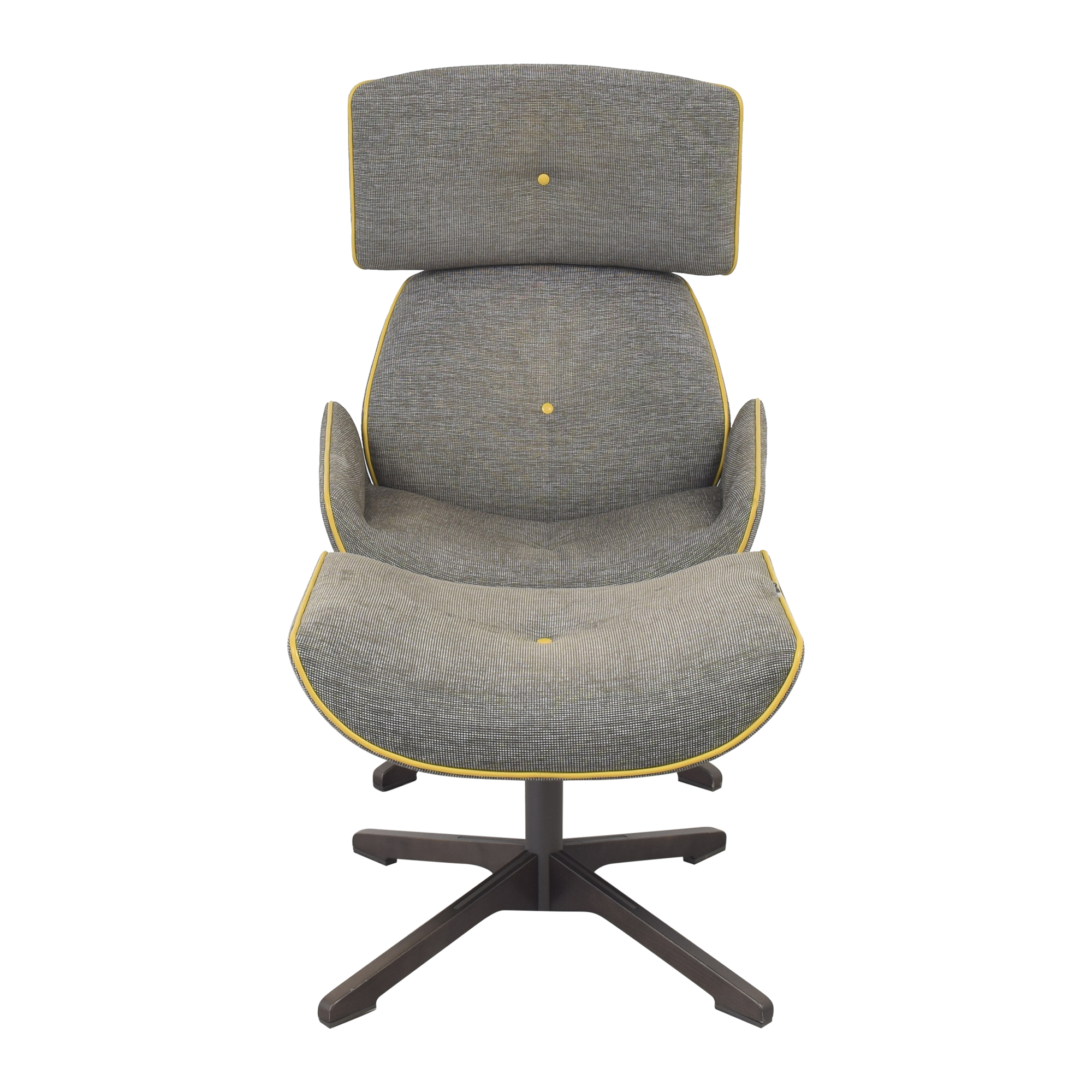 shop Roche Bobois Roche Bobois Quiet Life Armchair and Footstool online