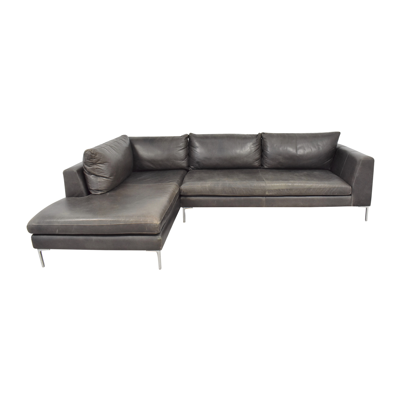 ABC Carpet & Home Cobble Hill Carroll Gardens Sectional Sofa sale