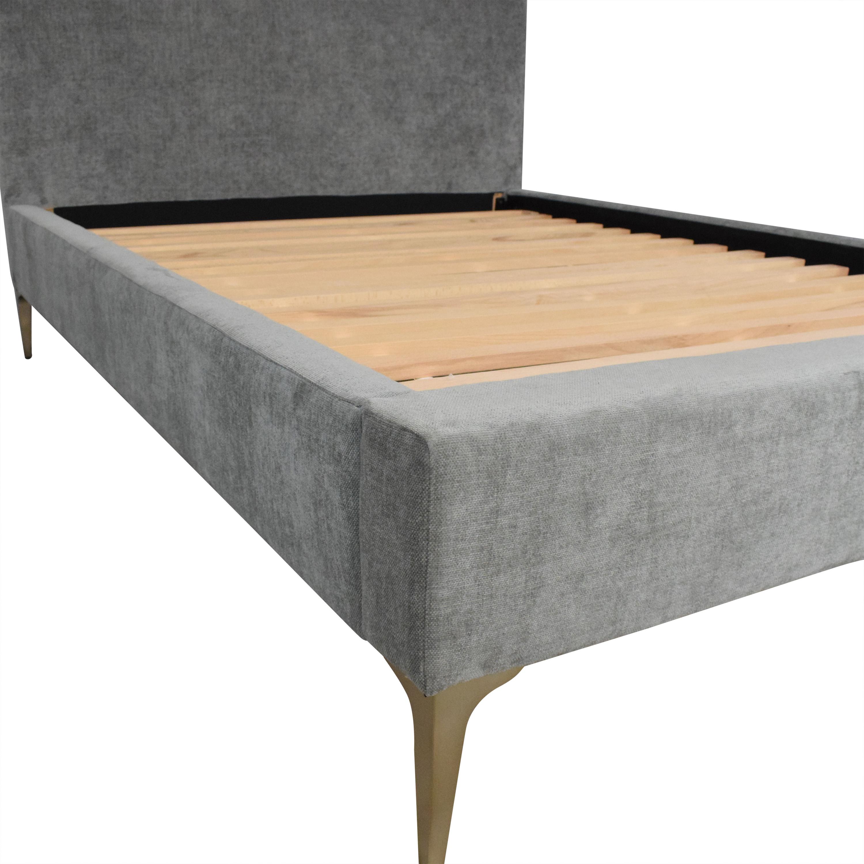 West Elm West Elm Andes Deco Upholstered Full Bed nj