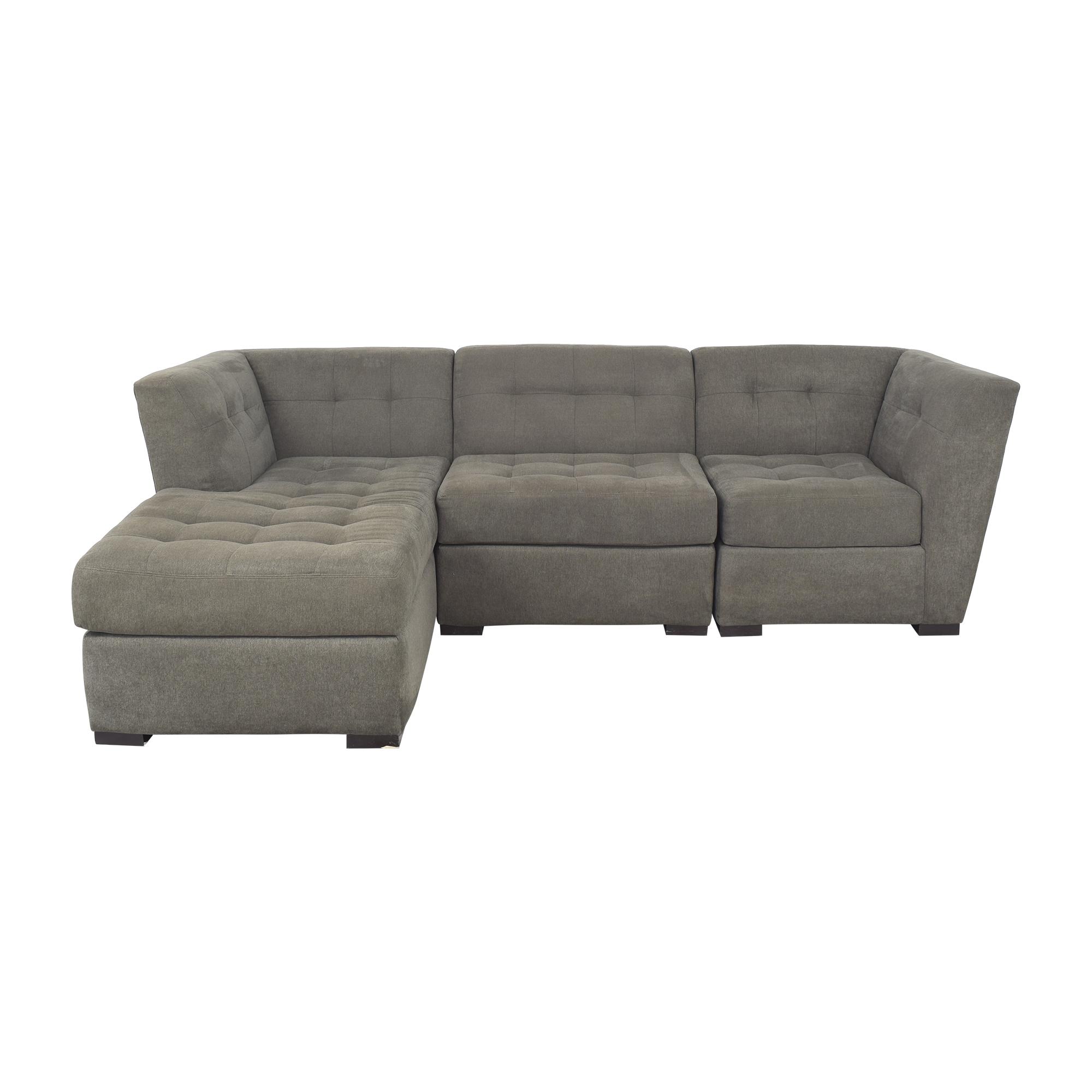 Macy's Roxanne II Chaise Sectional Sofa Macy's