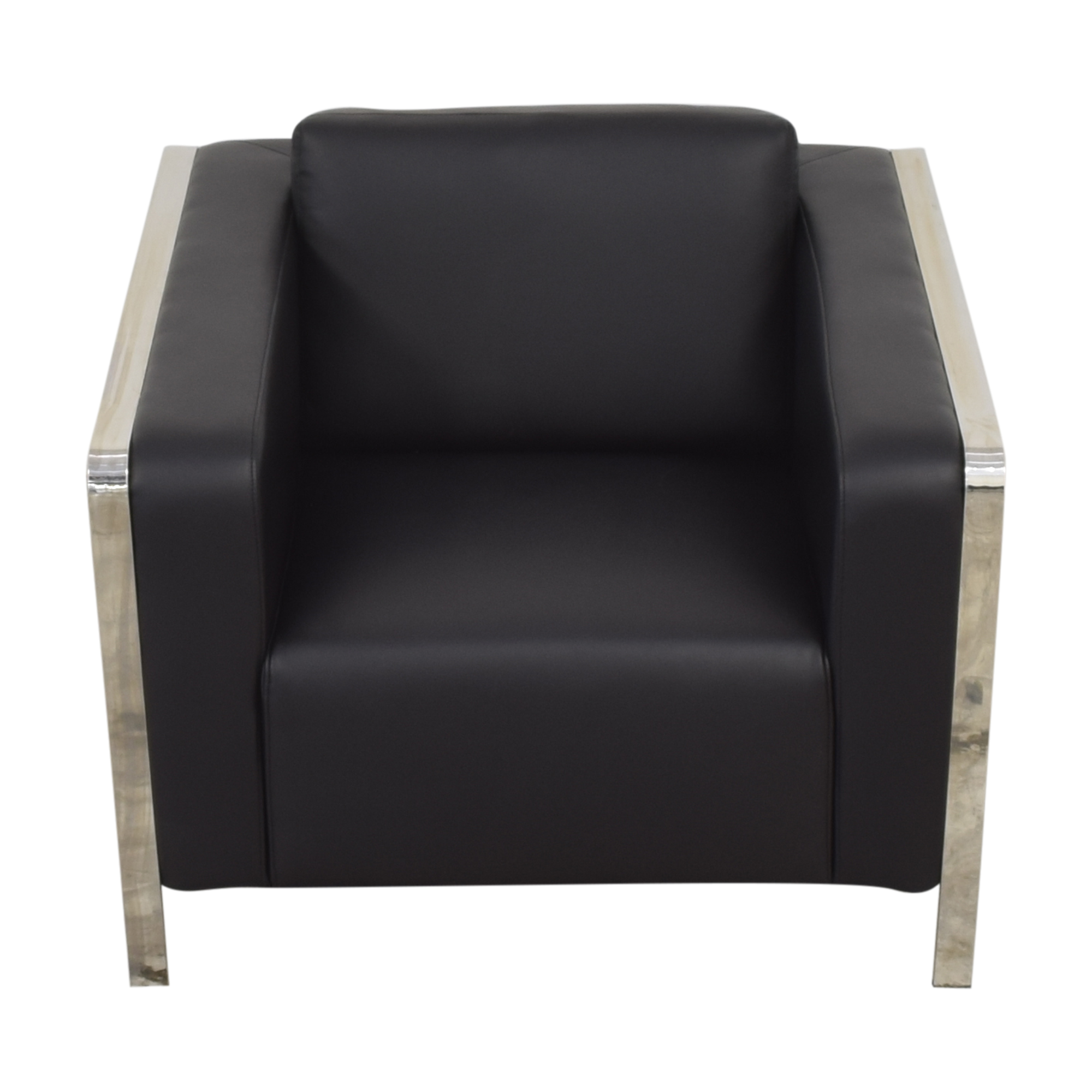 Zuo Modern Zuo Modern Thor Armchair black and silver