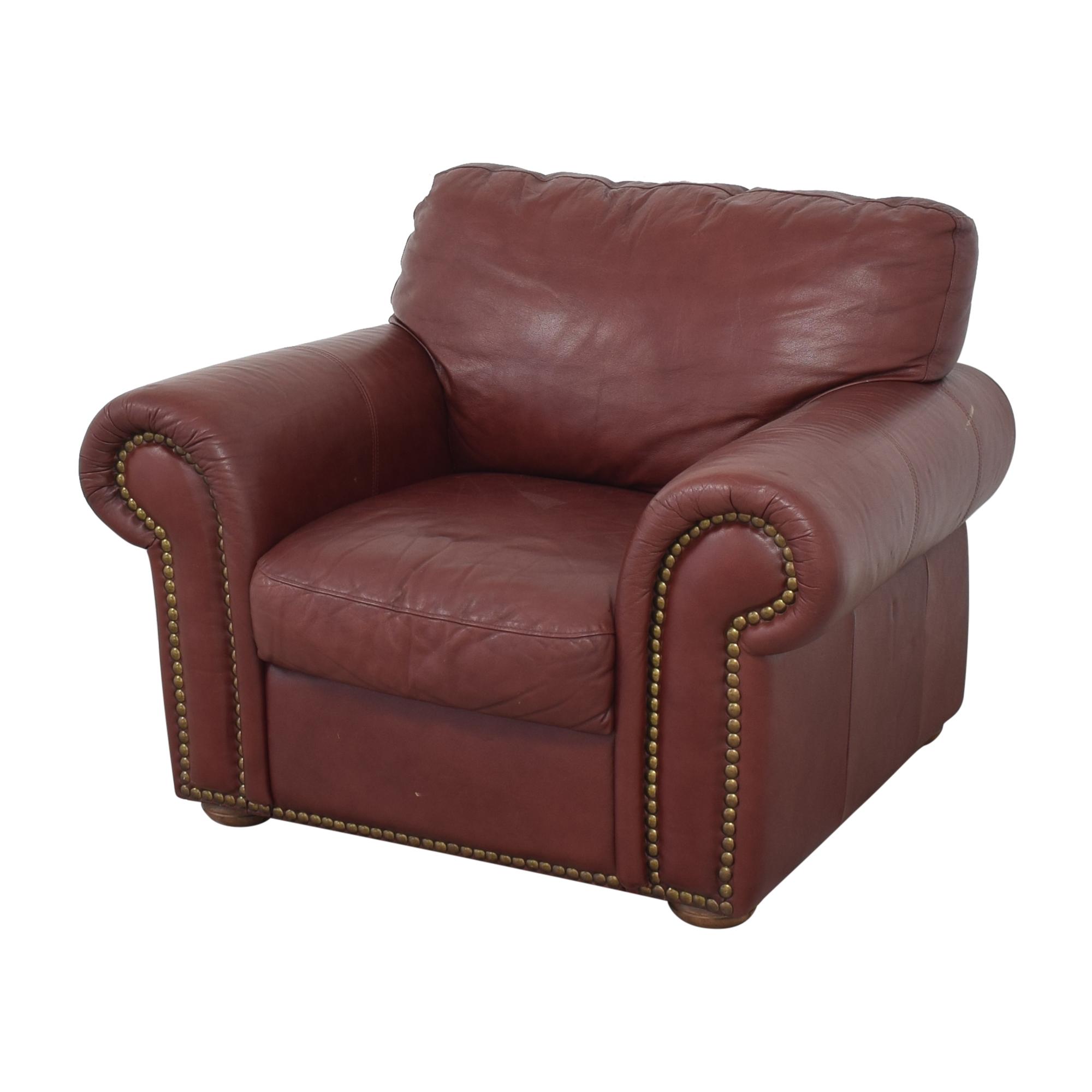 shop Macy's Nailhead Trim Armchair Macy's Accent Chairs
