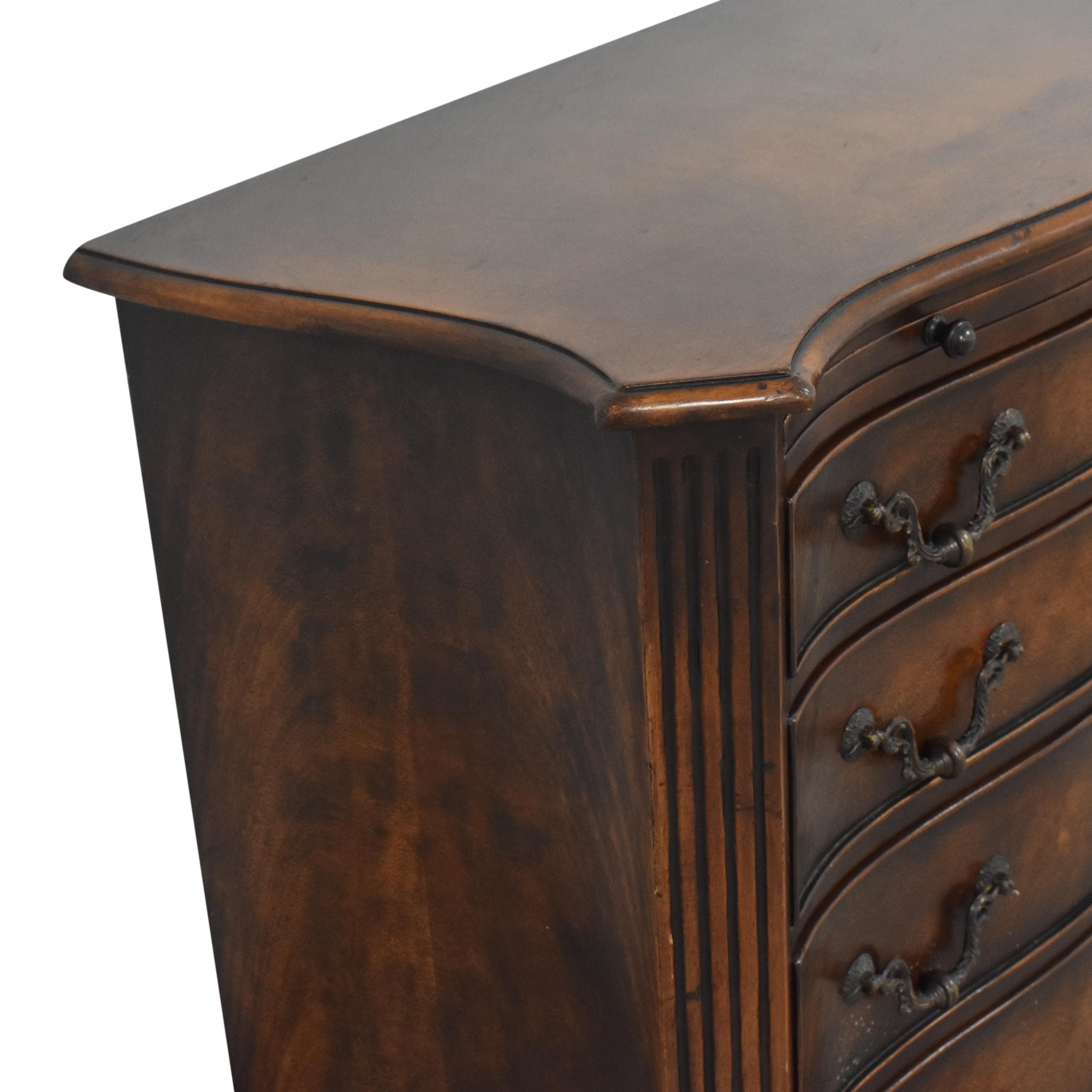 Four Drawer Chest with Extension Storage