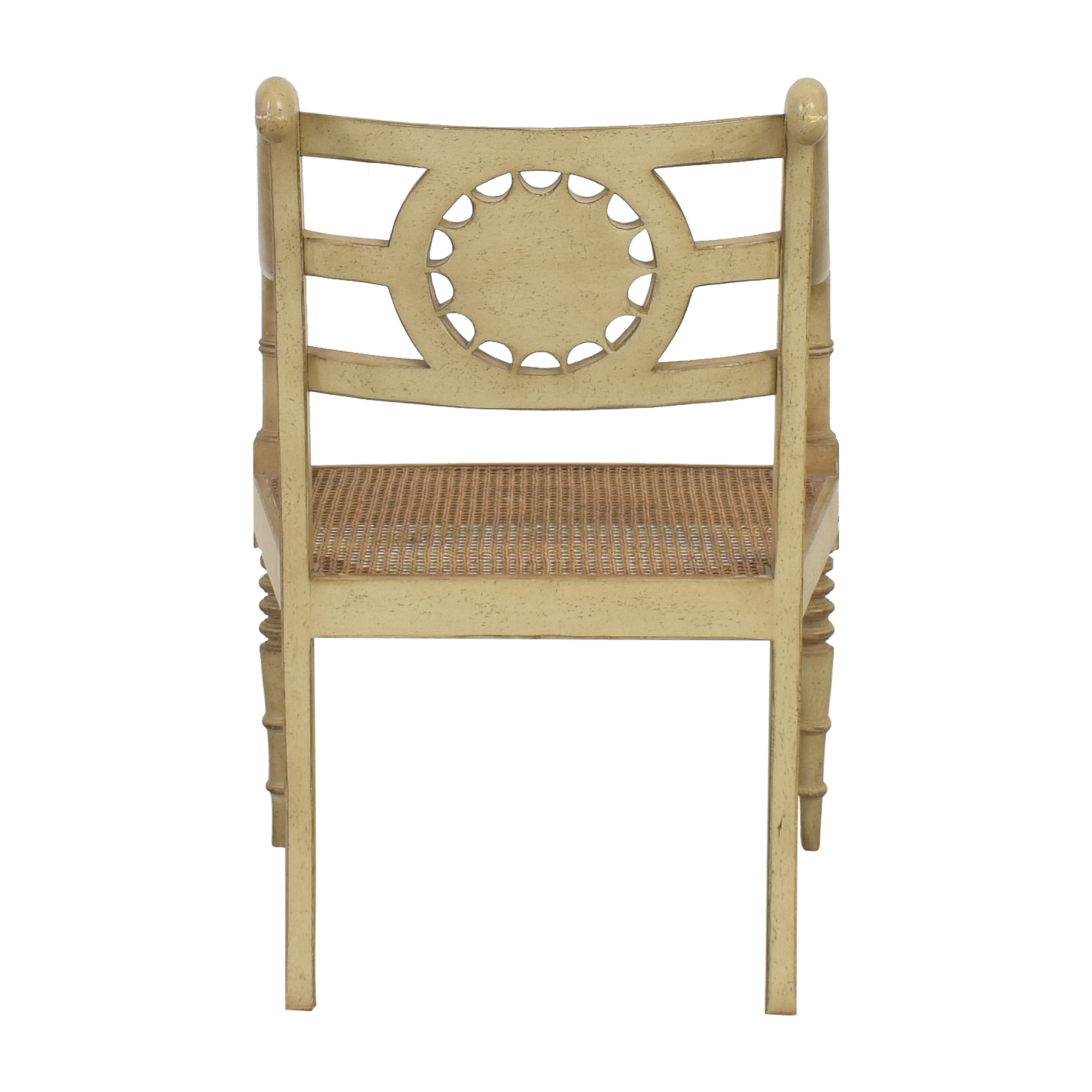 Baker Furniture Baker Furniture Cane Seat Accent Chair coupon