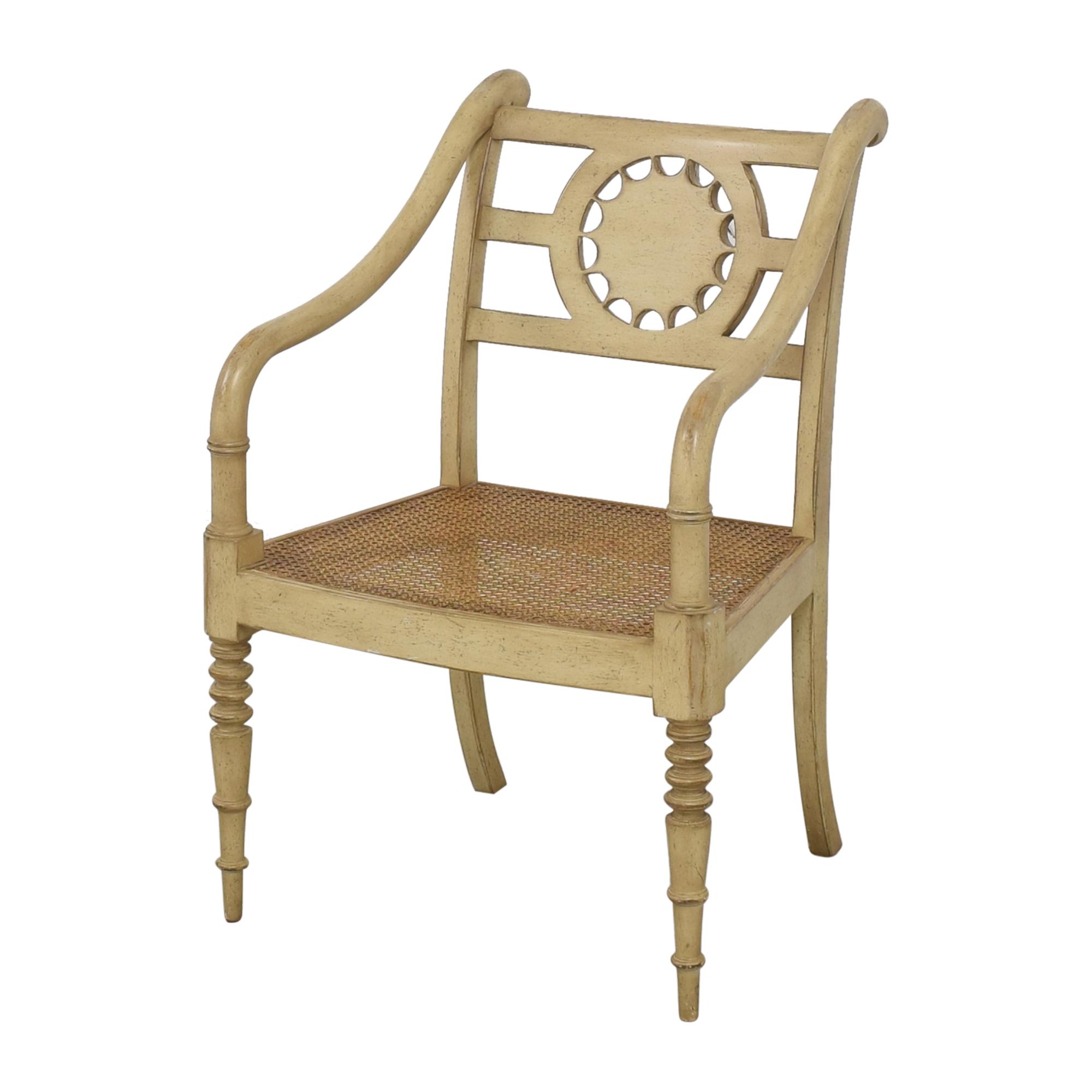 shop Baker Furniture Baker Furniture Cane Seat Accent Chair online