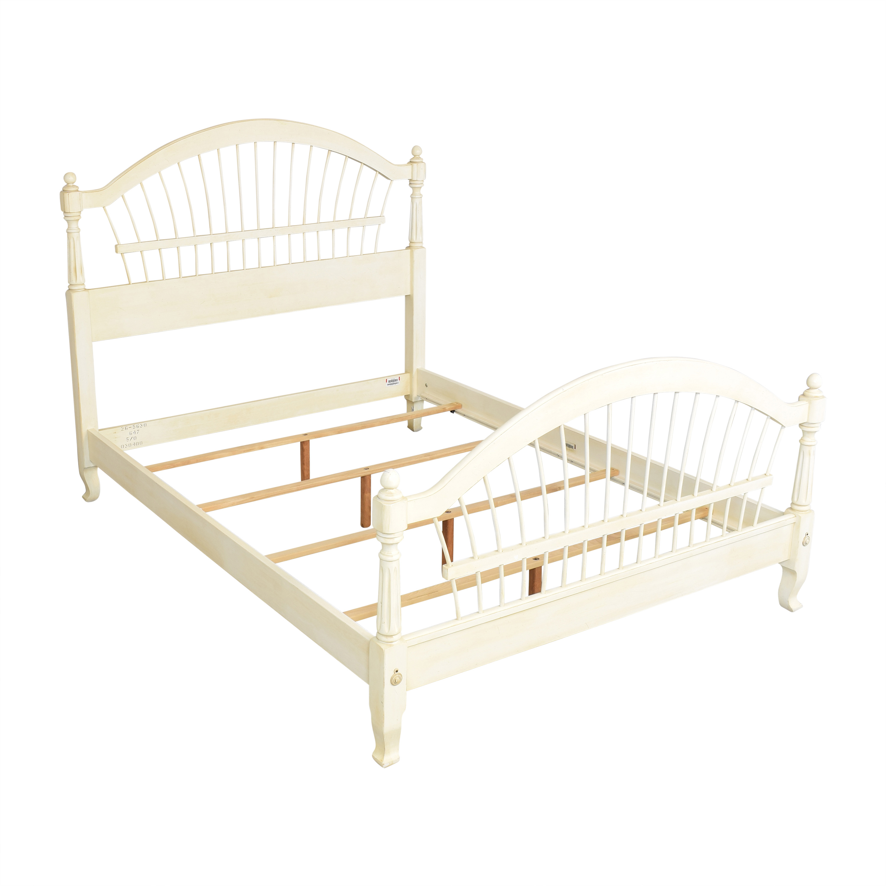 Ethan Allen Ethan Allen Country French Queen Bed pa