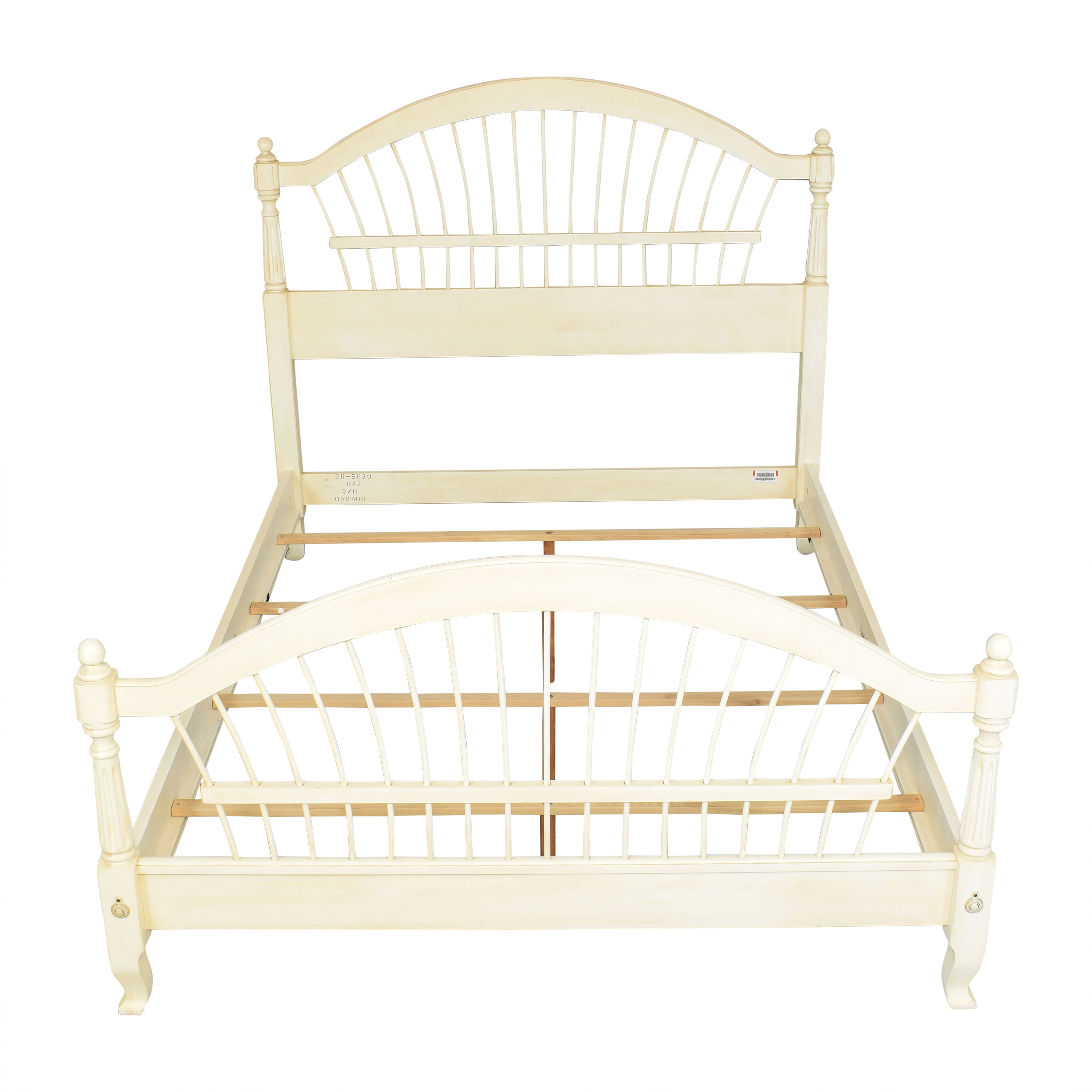 shop Ethan Allen Country French Queen Bed Ethan Allen