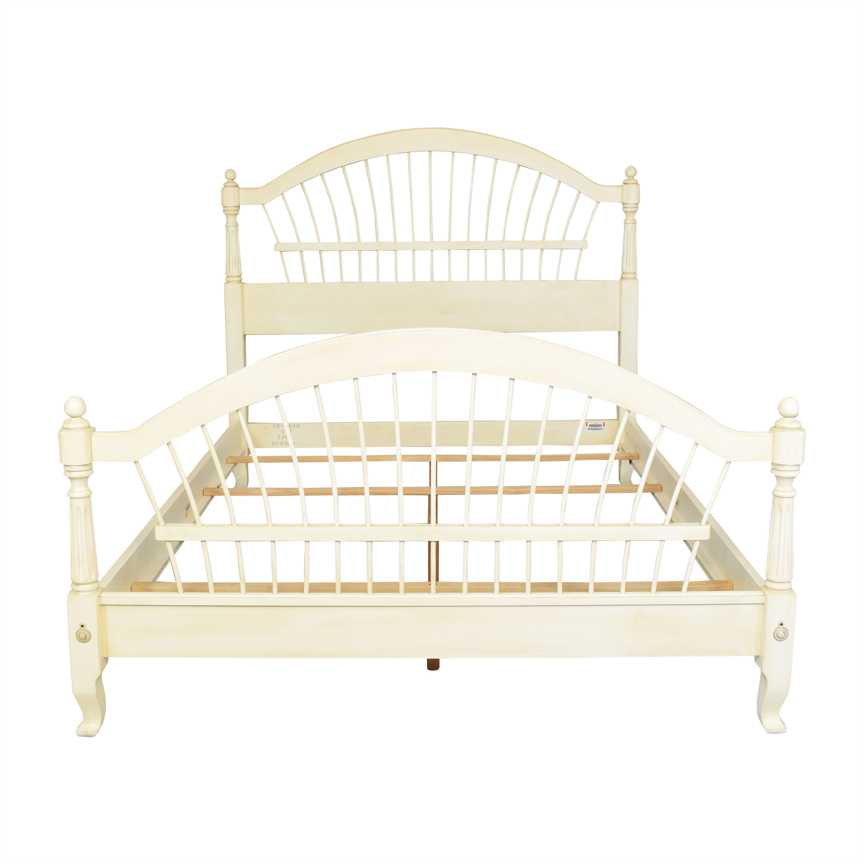 Ethan Allen Ethan Allen Country French Queen Bed off white