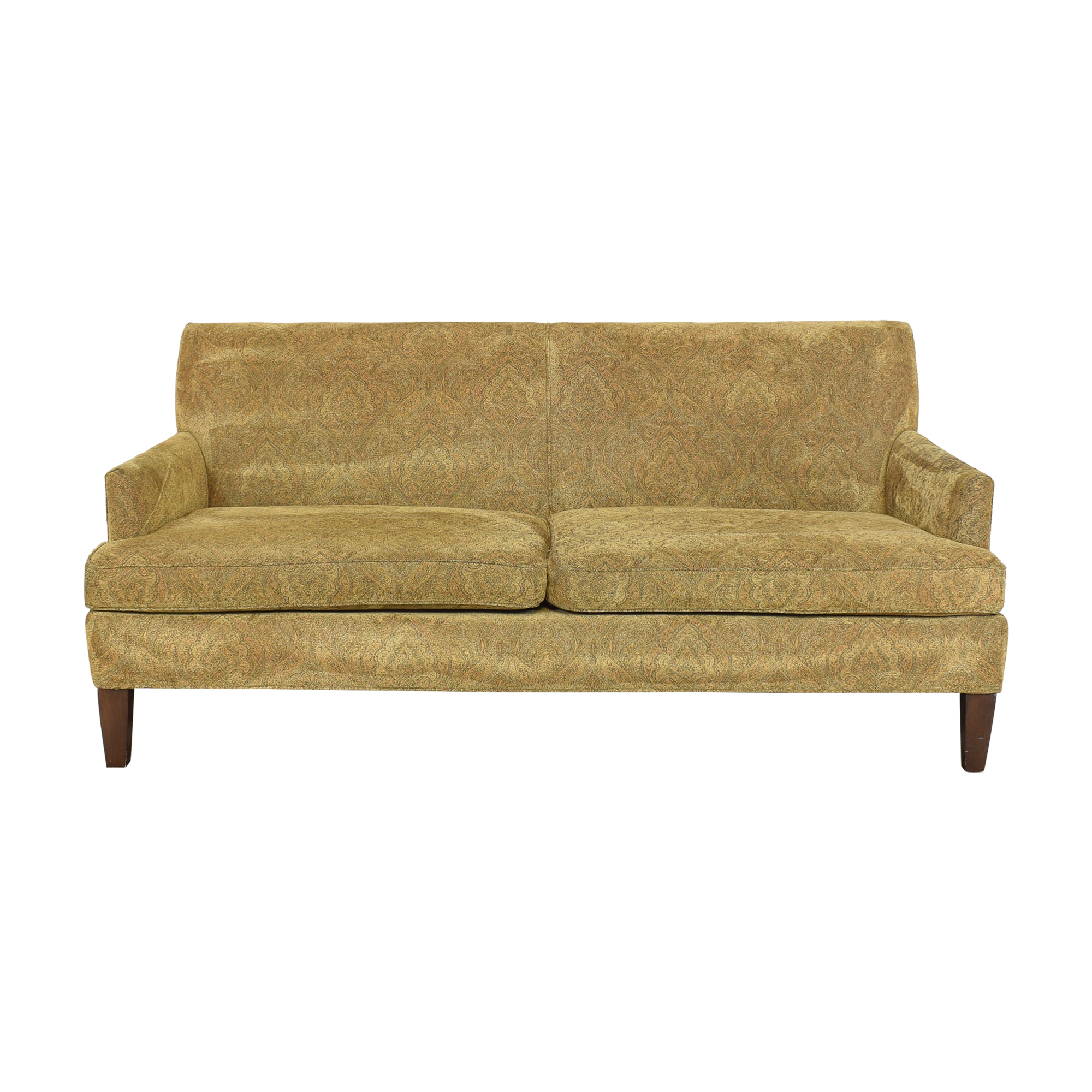 Lee Industries Lee Industries Two Cushion Apartment Sofa nj