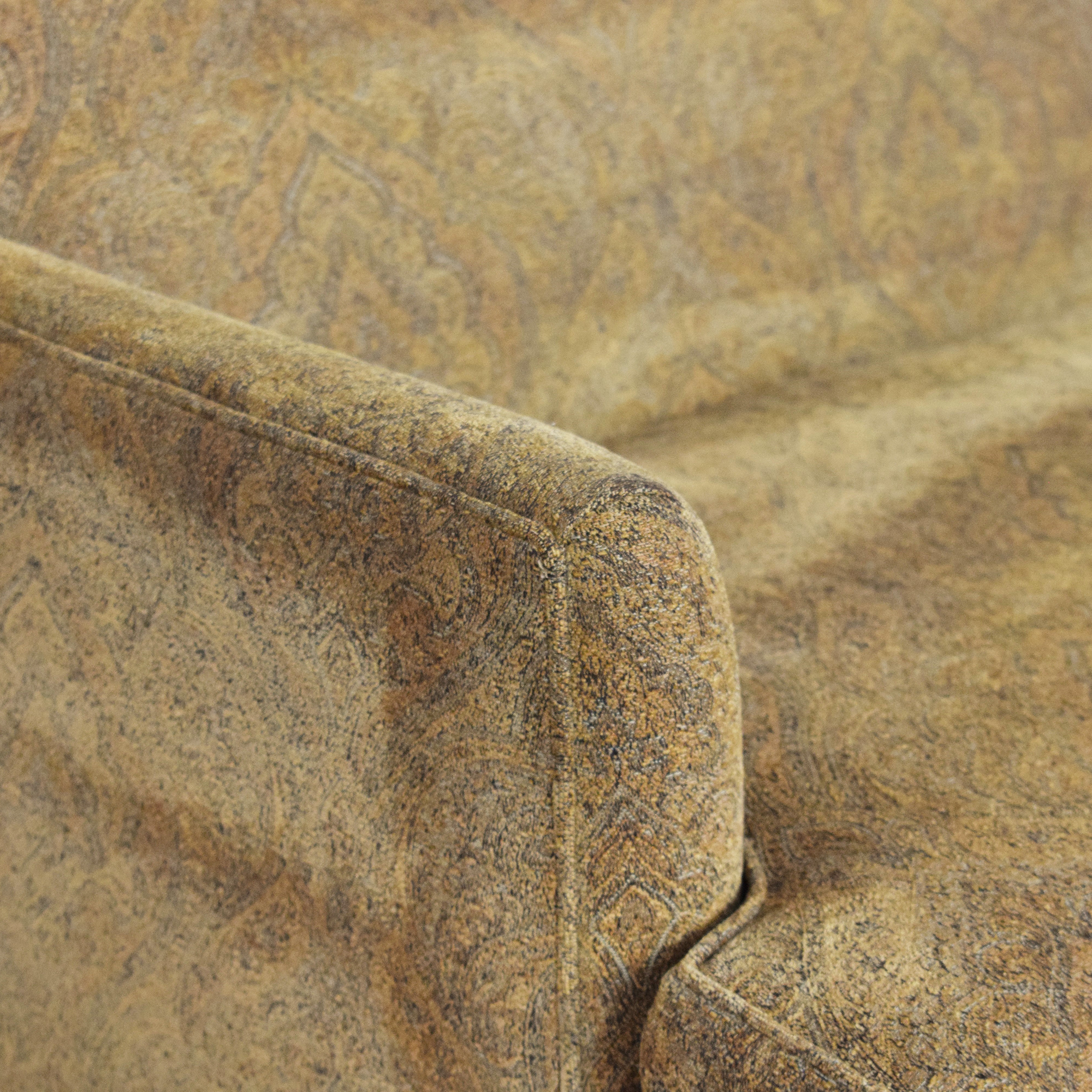 Lee Industries Lee Industries Two Cushion Apartment Sofa dimensions