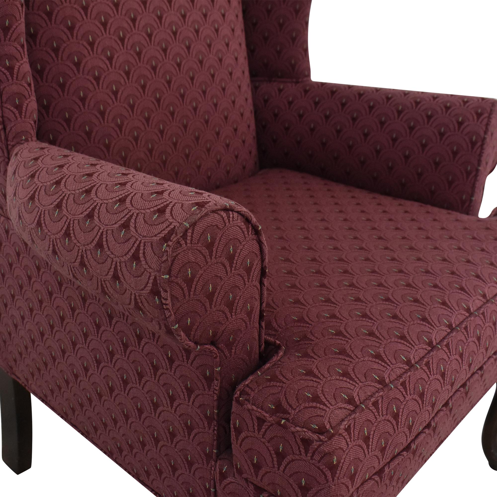 Pembrook Chair Pembrook Wing Accent Chair ct