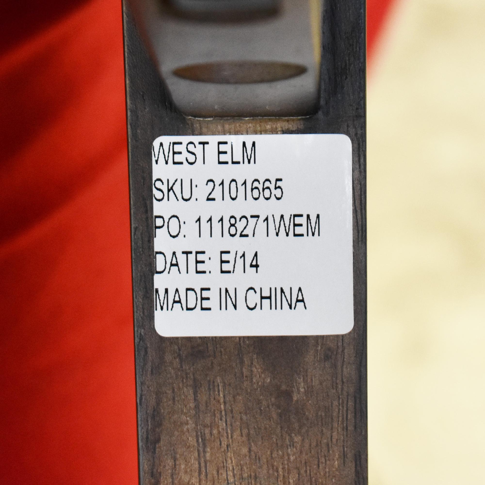 West Elm West Elm Chevron Bone Side Table discount