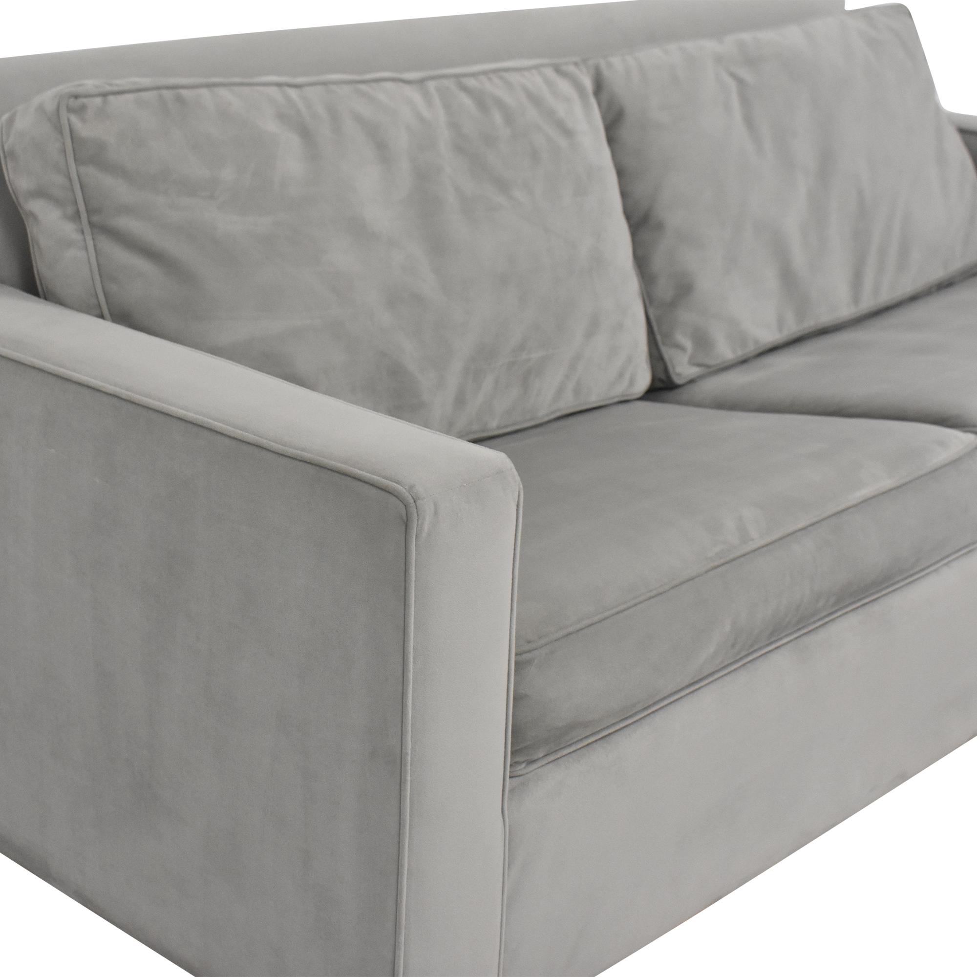West Elm Henry Queen Sleeper Sofa sale