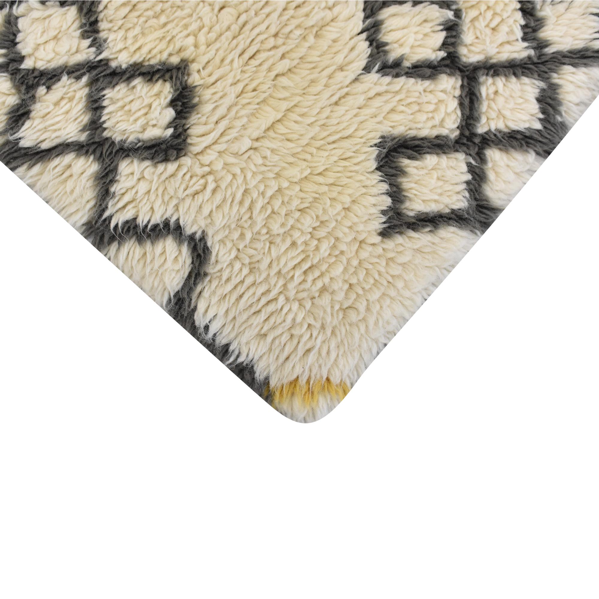 shop West Elm West Elm Fes Wool Shag Rug online