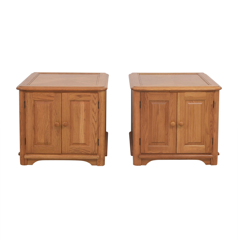 Riverside Furniture Two Door End Tables / End Tables
