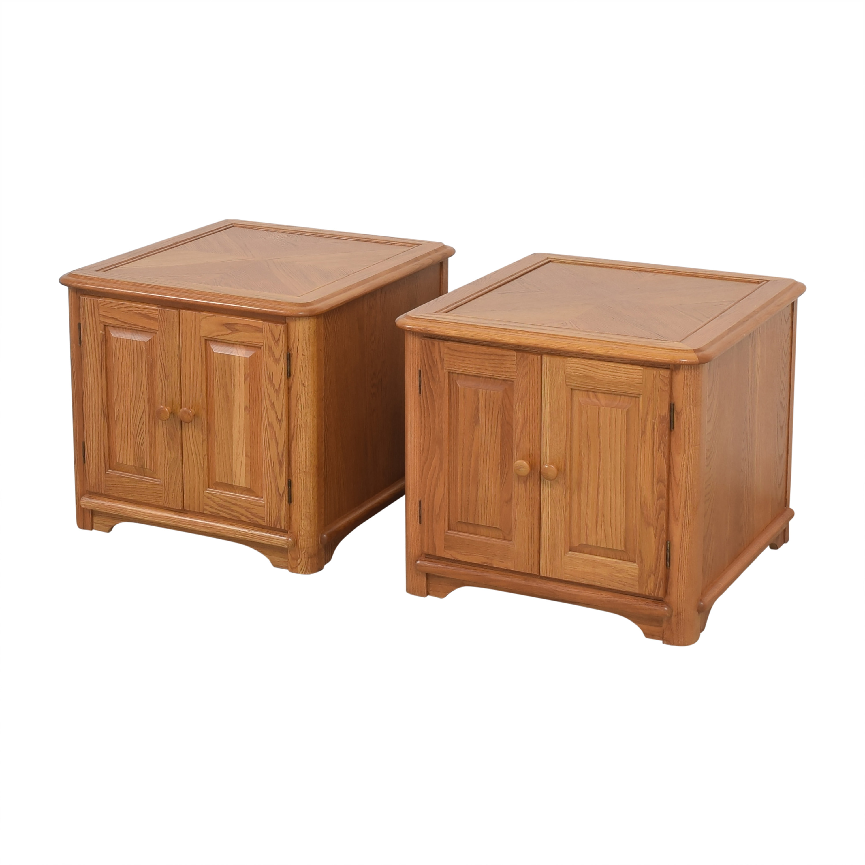 Riverside Furniture Riverside Furniture Two Door End Tables End Tables