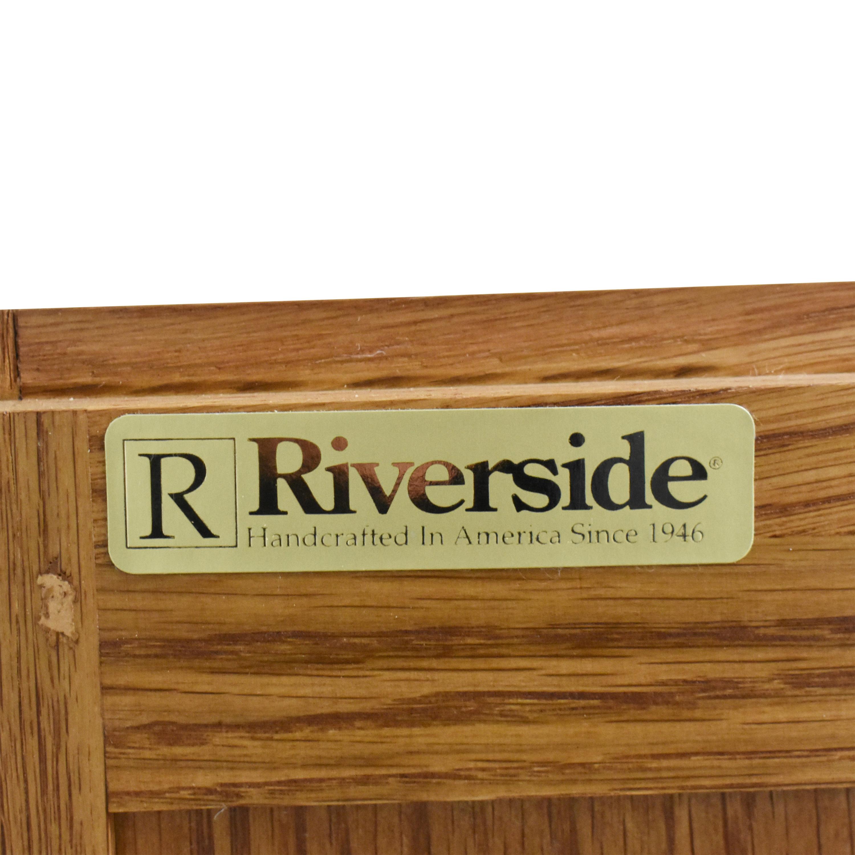 buy Riverside Furniture Two Door End Tables Riverside Furniture End Tables