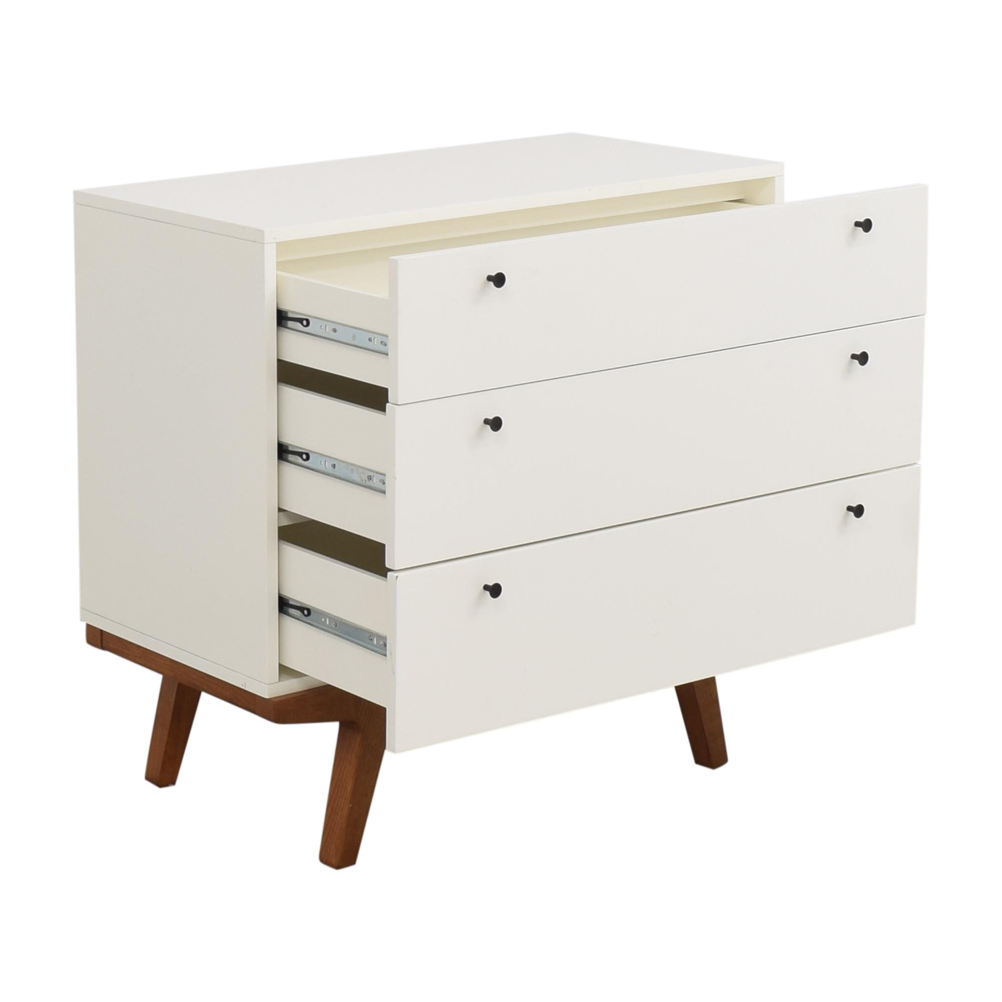 West Elm West Elm Modern 3-Drawer Dresser for sale