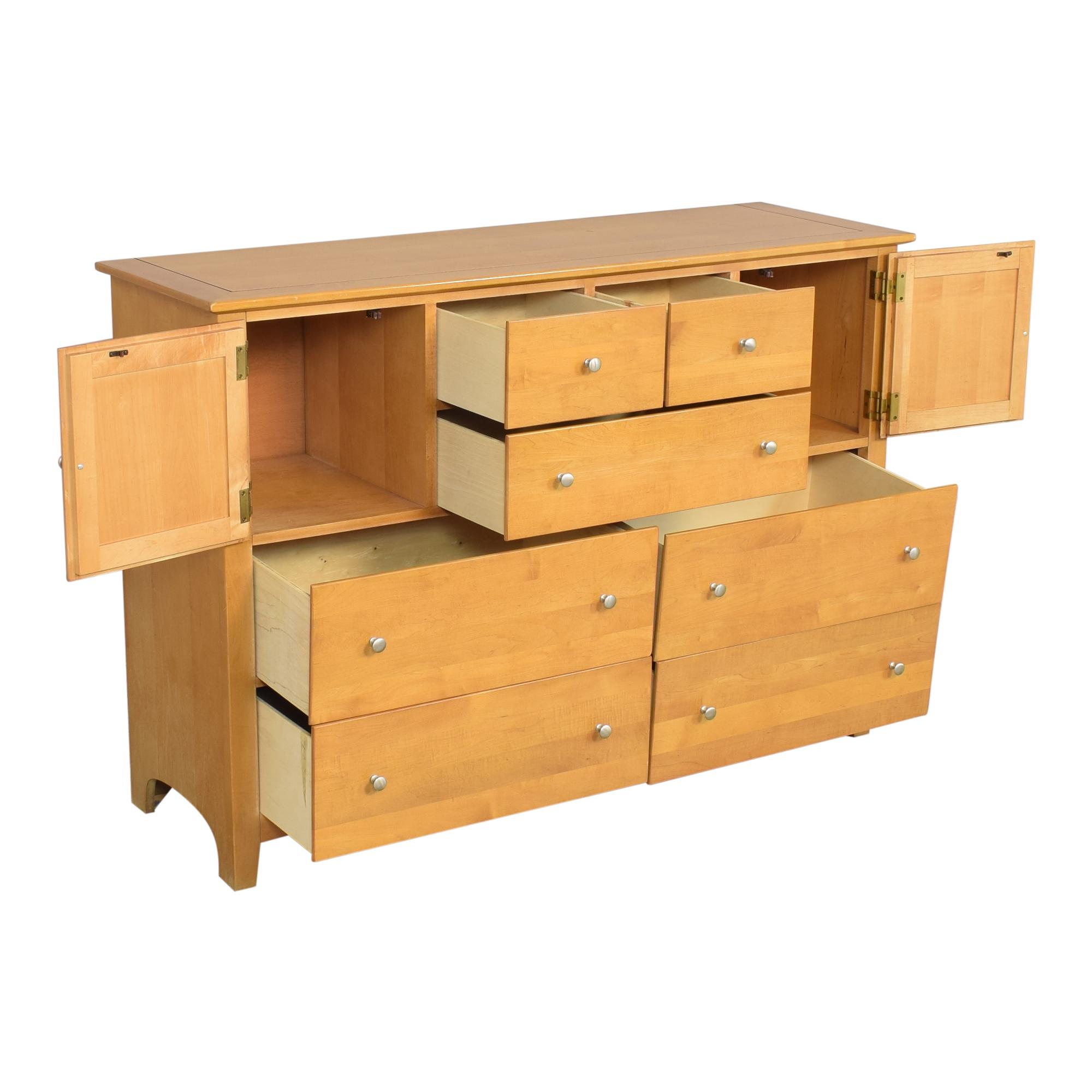 shop Stanley Funiture Double Door Dresser Stanley Furniture Dressers