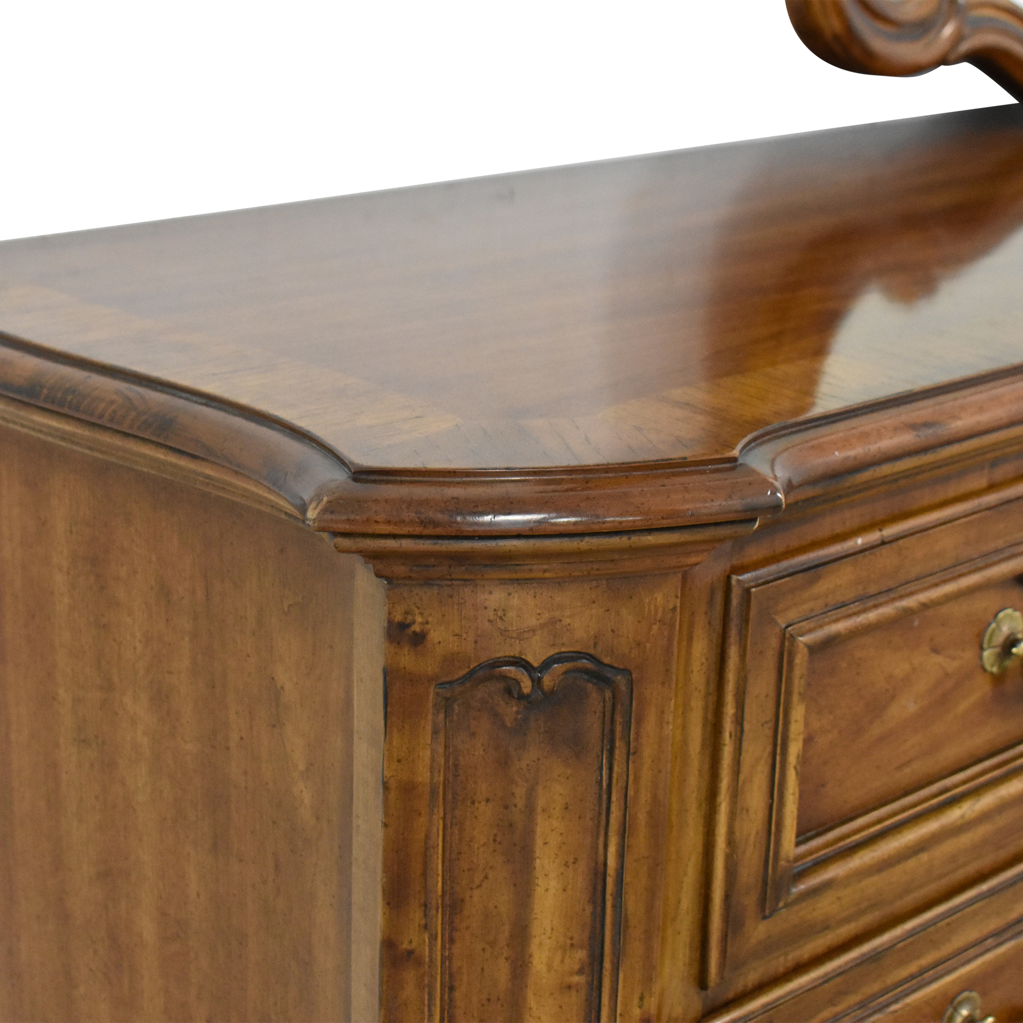 Heritage Heritage French Country Triple Dresser with Mirror Storage