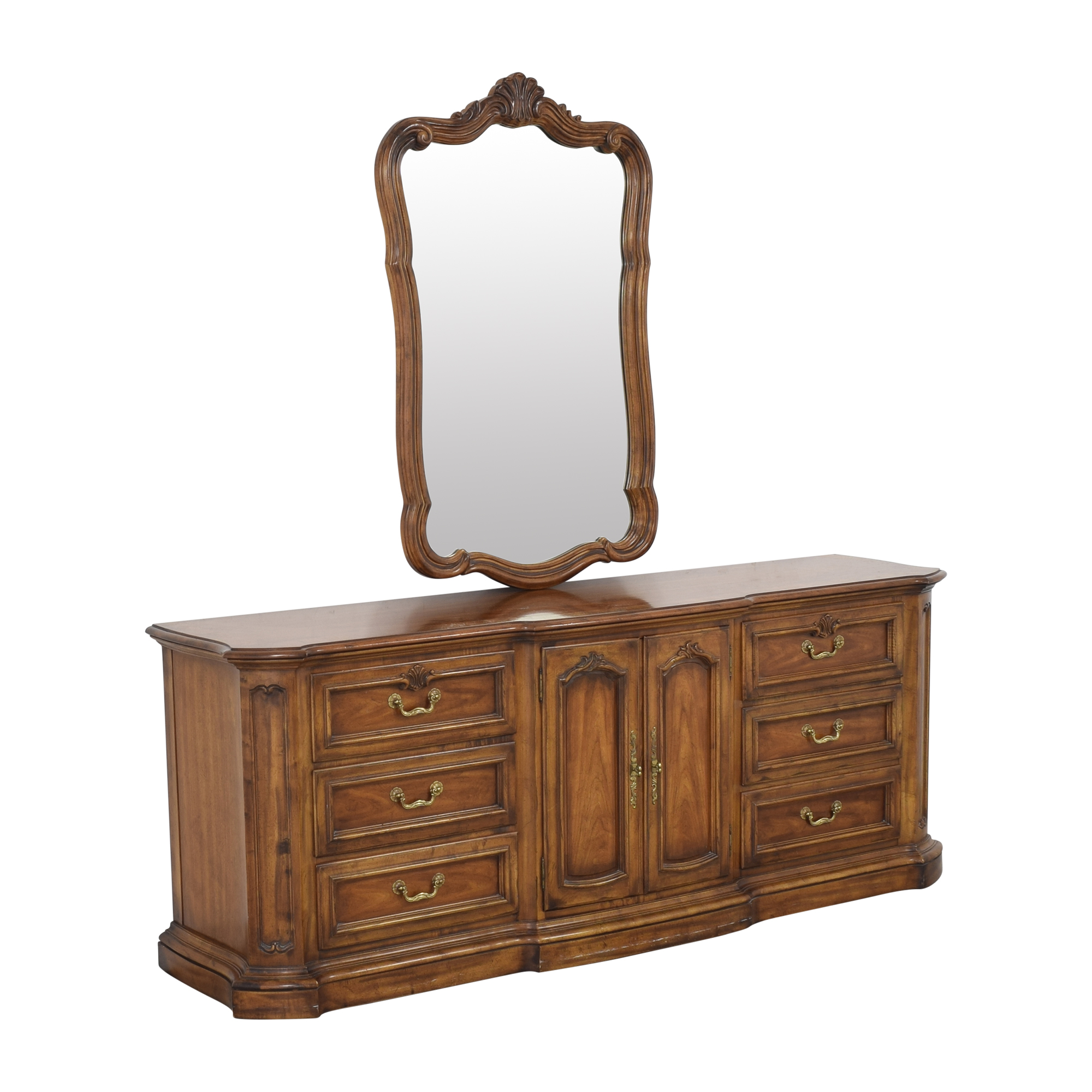 Heritage Heritage French Country Triple Dresser with Mirror discount